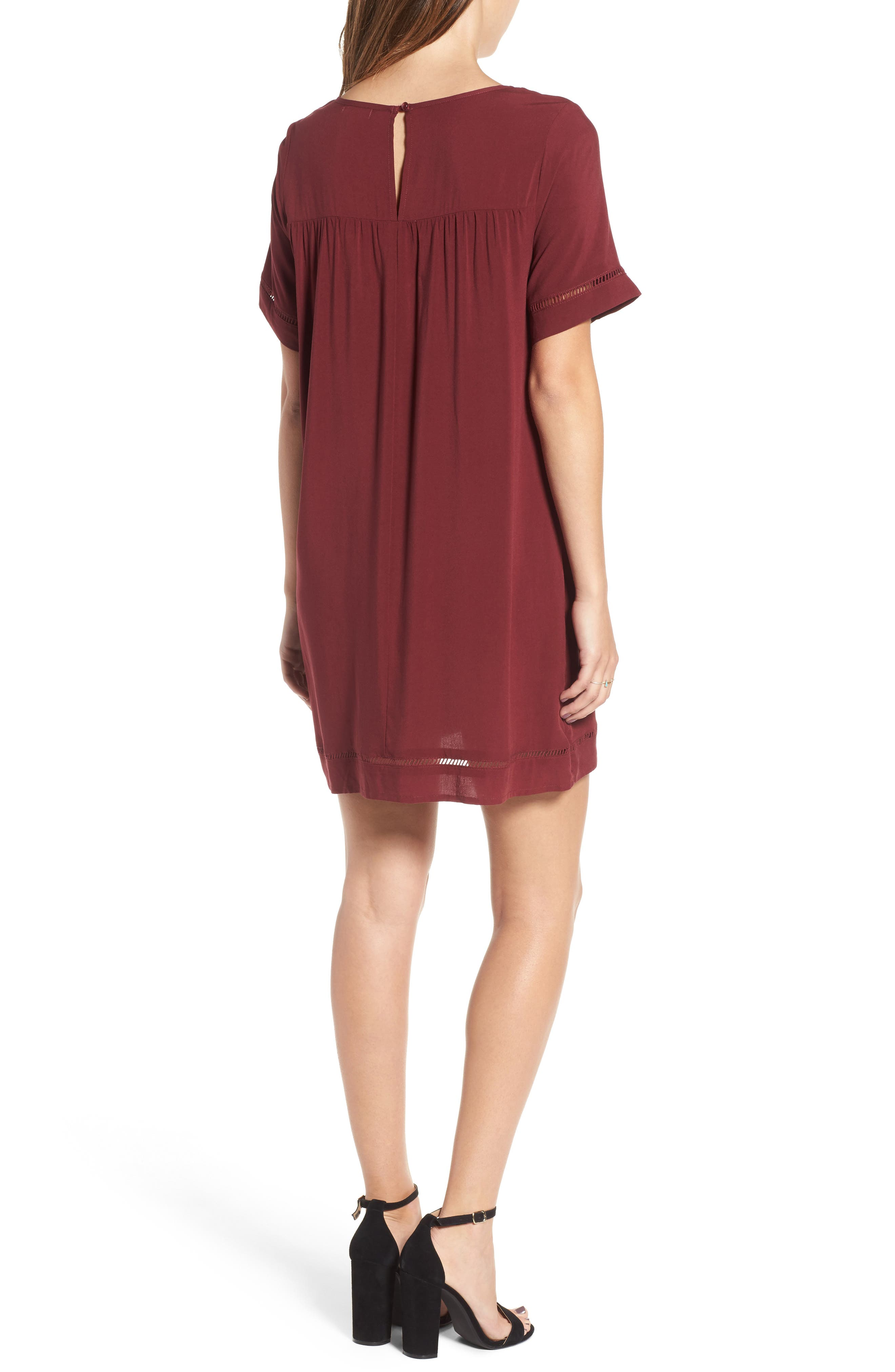 Embroidered Dress,                             Alternate thumbnail 4, color,