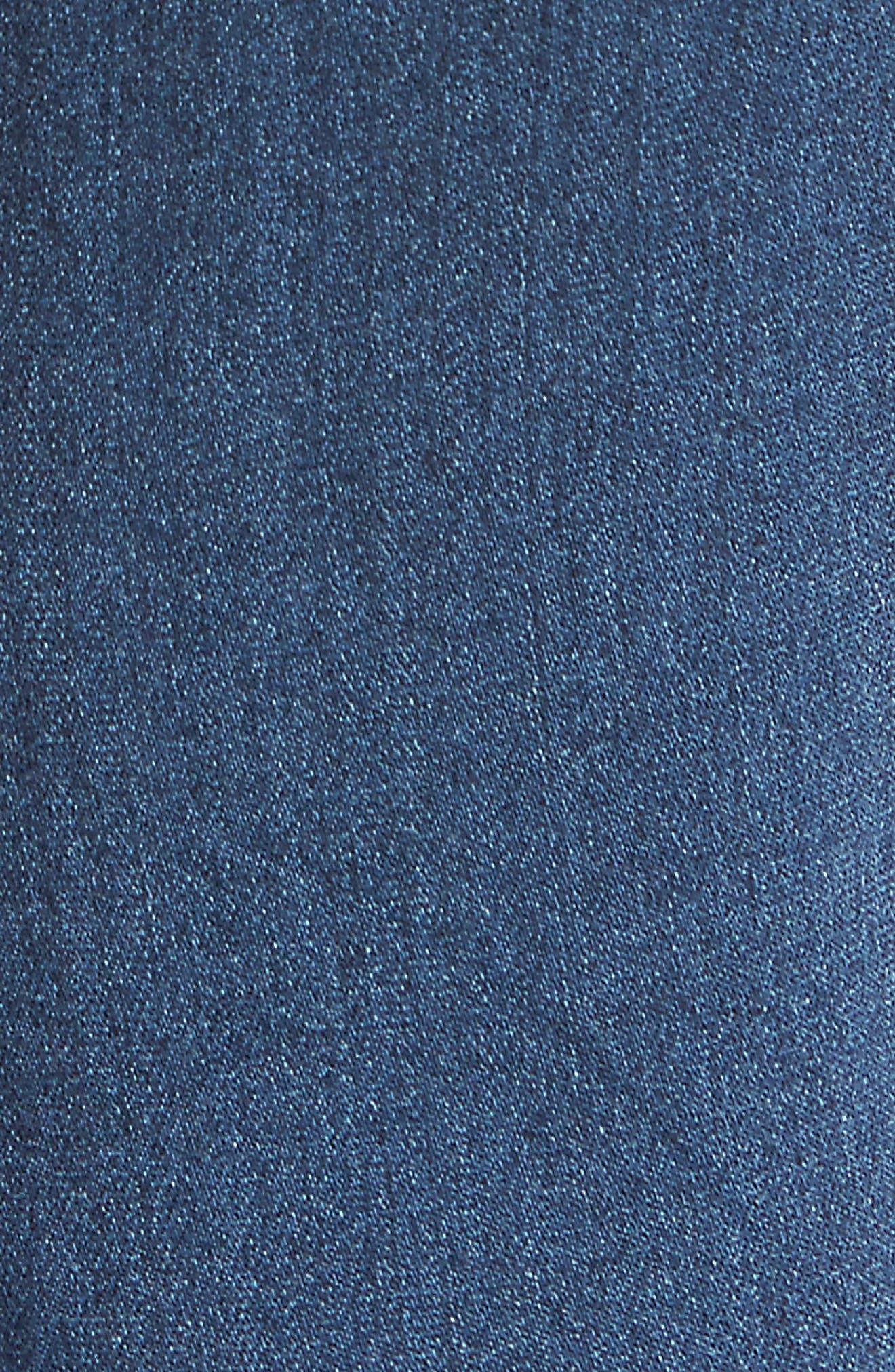 Good Waist High Rise Skinny Jeans,                             Alternate thumbnail 7, color,                             BLUE013