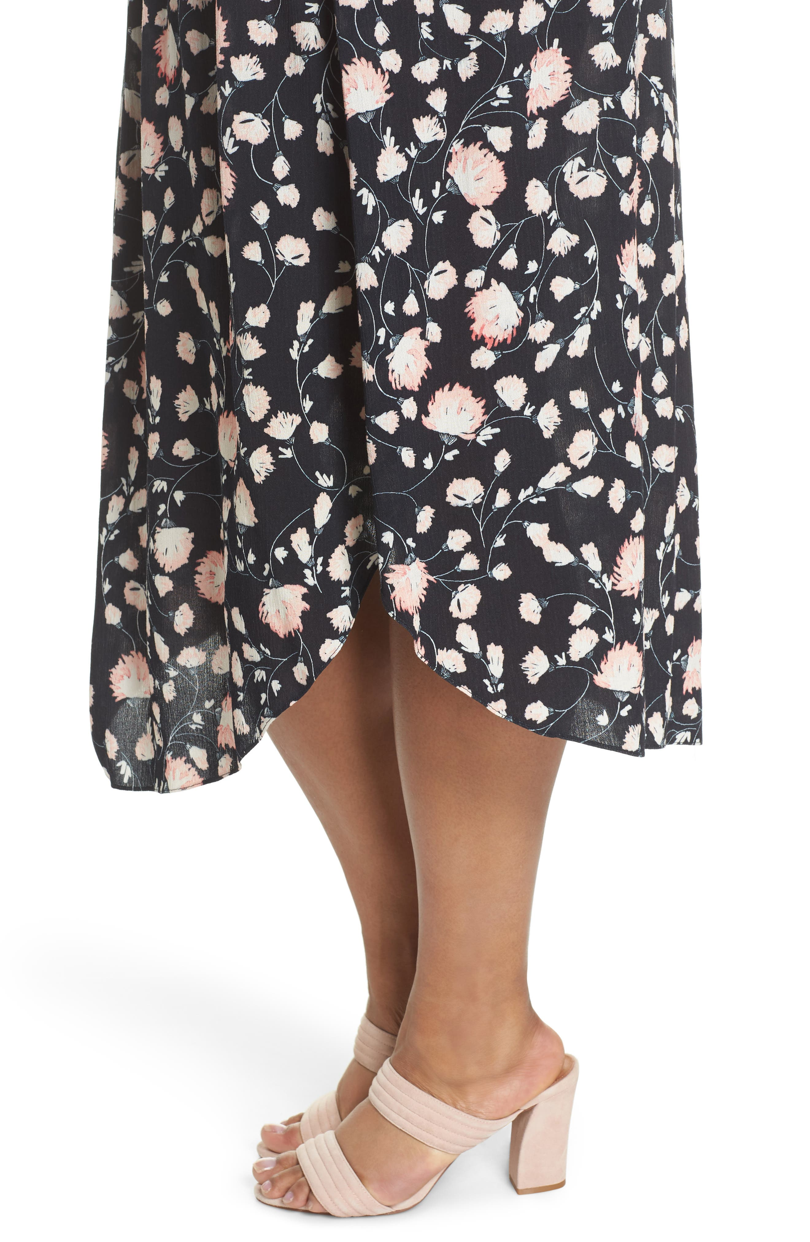 Smocked Waist Skirt,                             Alternate thumbnail 4, color,                             002