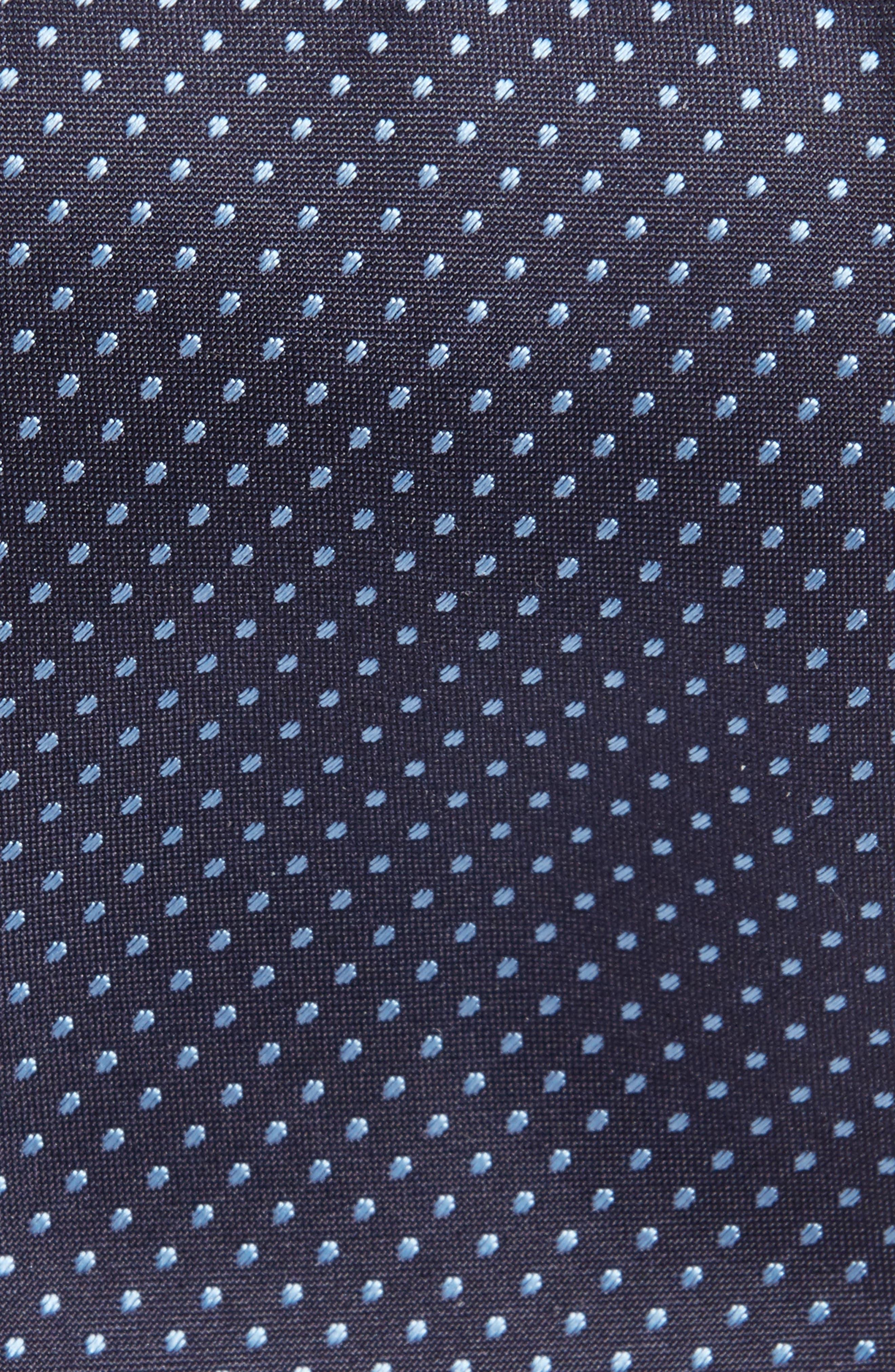 Dot Silk Skinny Tie,                             Alternate thumbnail 2, color,                             439