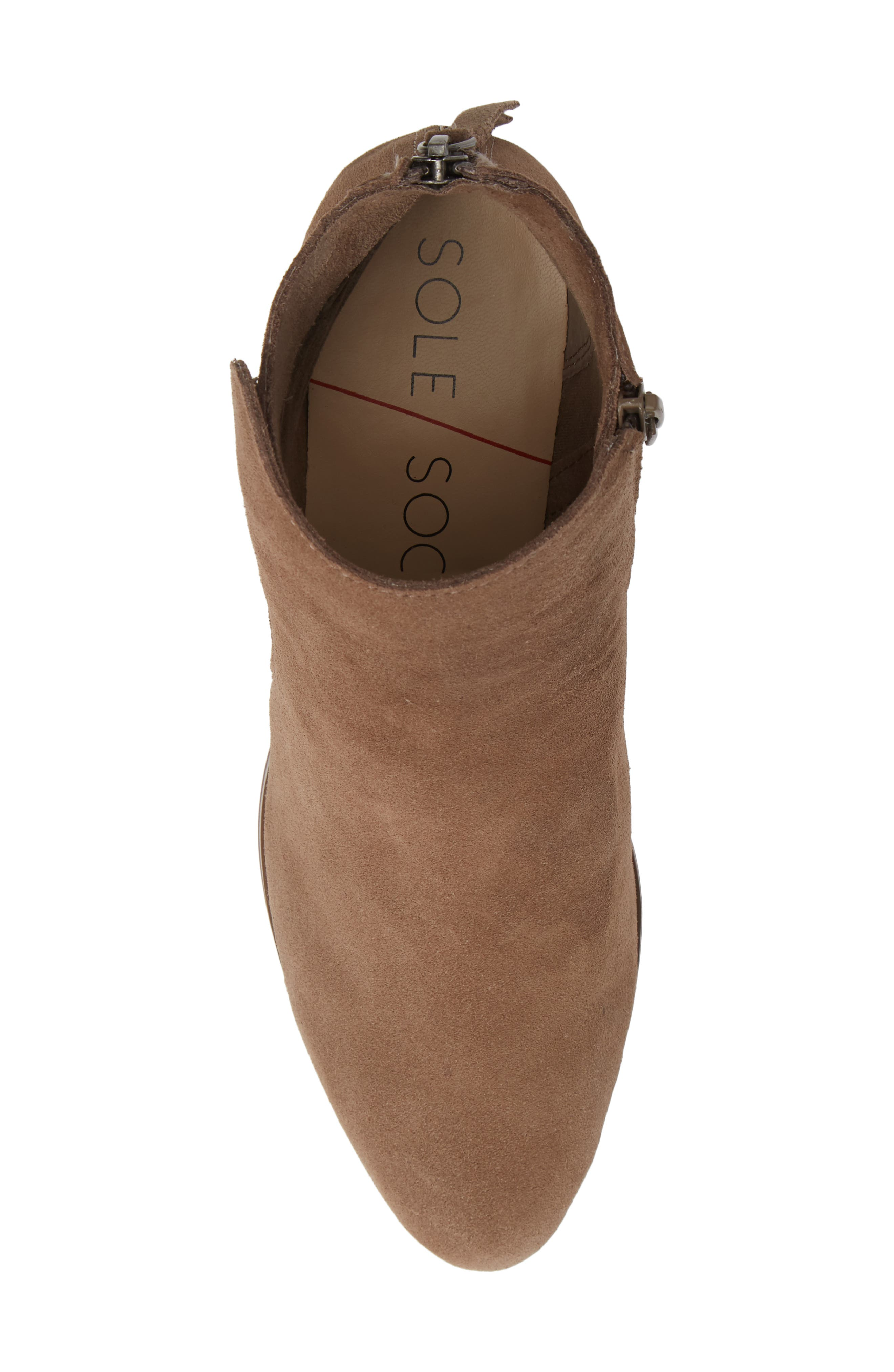 River Bootie,                             Alternate thumbnail 5, color,                             NEW TAUPE SUEDE