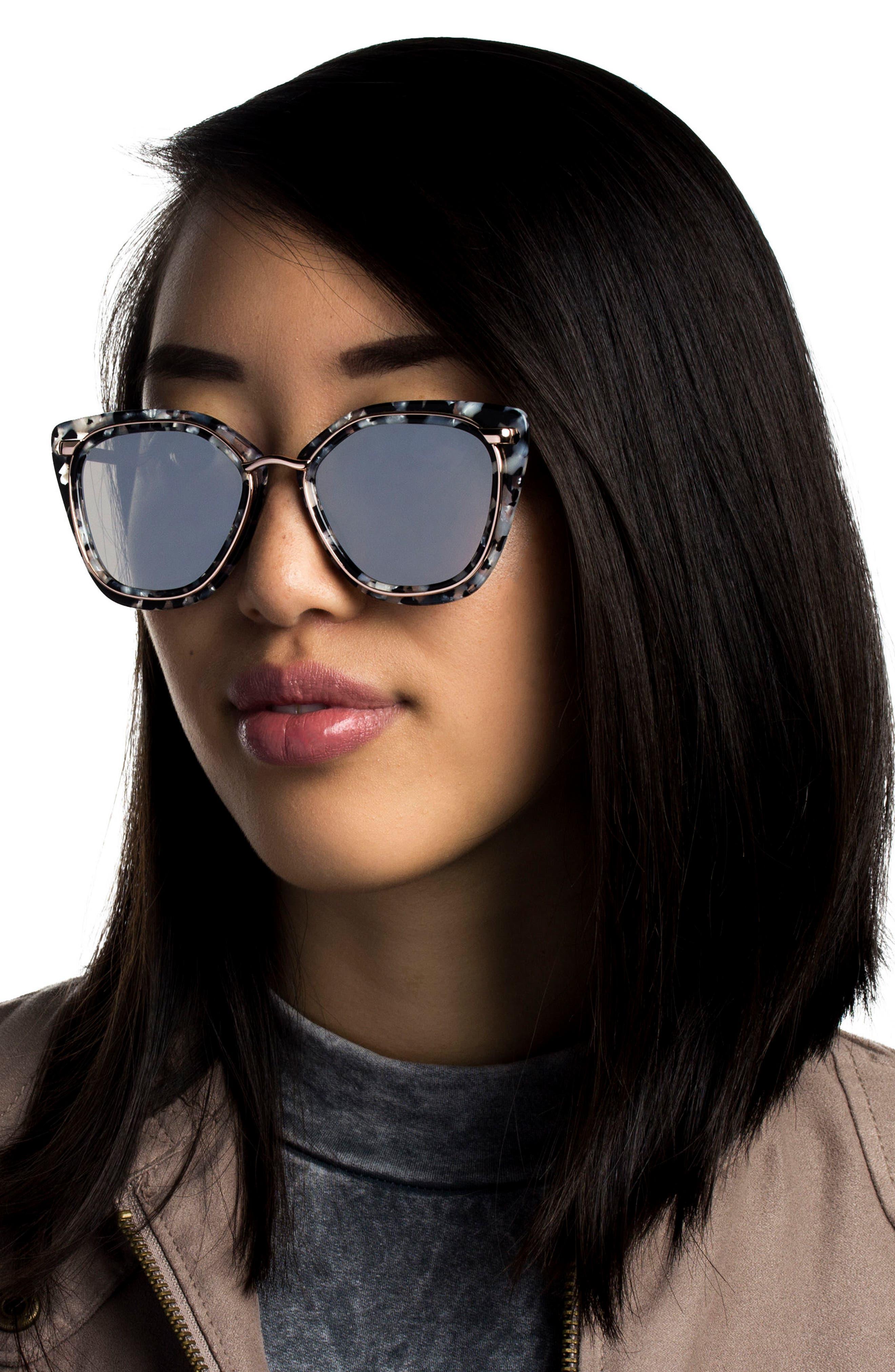 Temple 52mm Sunglasses,                             Alternate thumbnail 11, color,