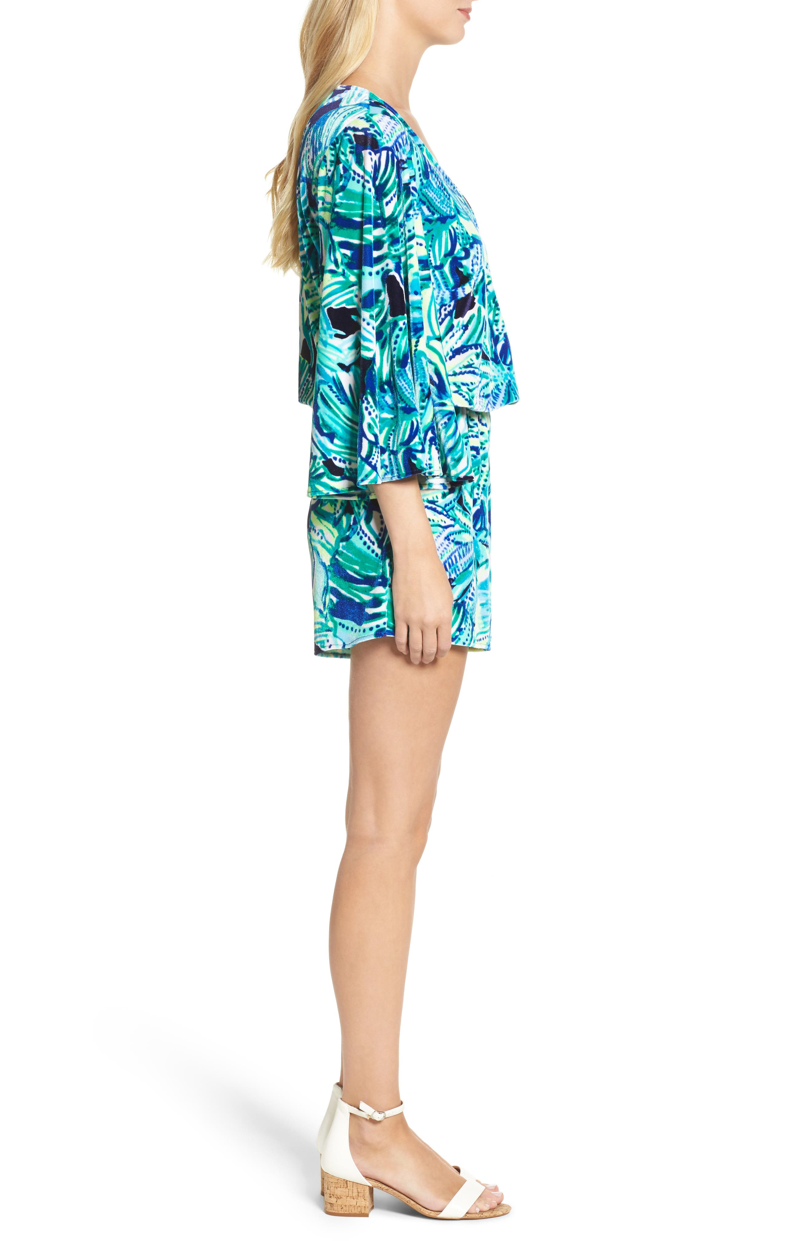 Lily Pulitzer<sup>®</sup> Viviana Romper,                             Alternate thumbnail 3, color,                             440