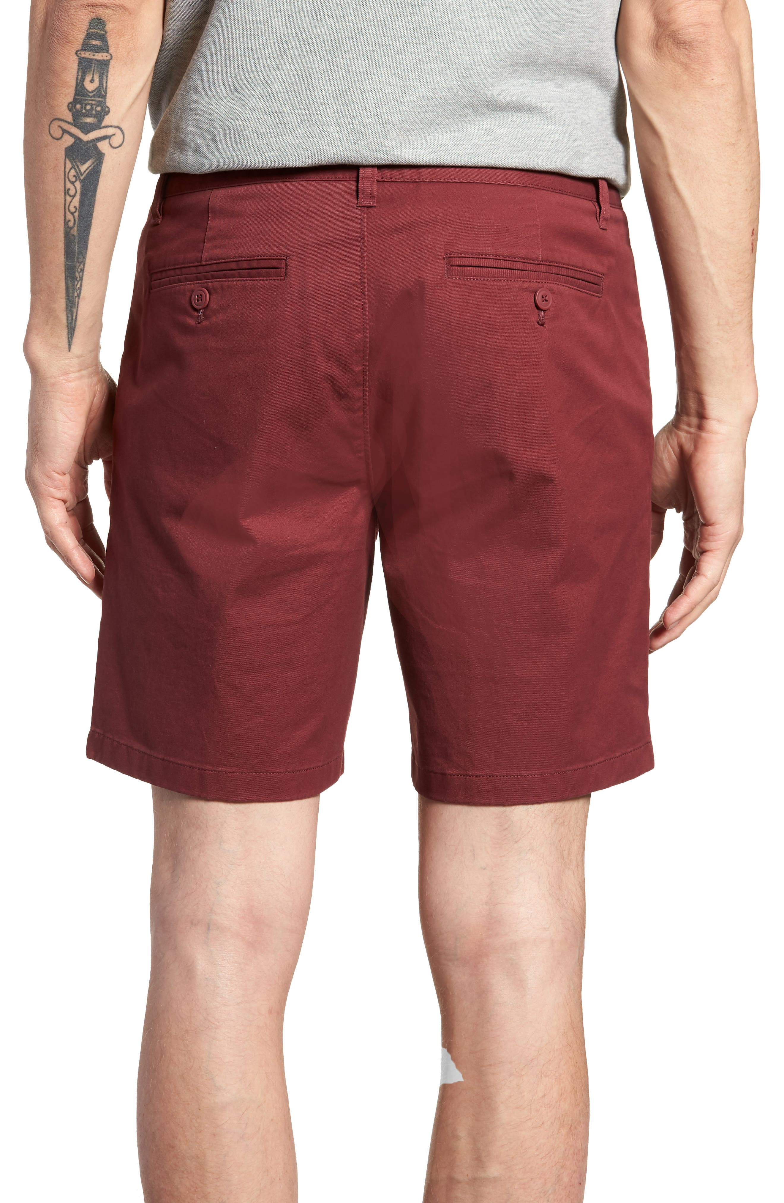 Stretch Chino 7-Inch Shorts,                             Alternate thumbnail 21, color,