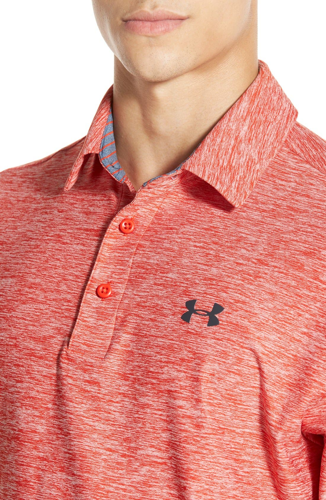 'Playoff' Loose Fit Short Sleeve Polo,                             Alternate thumbnail 229, color,