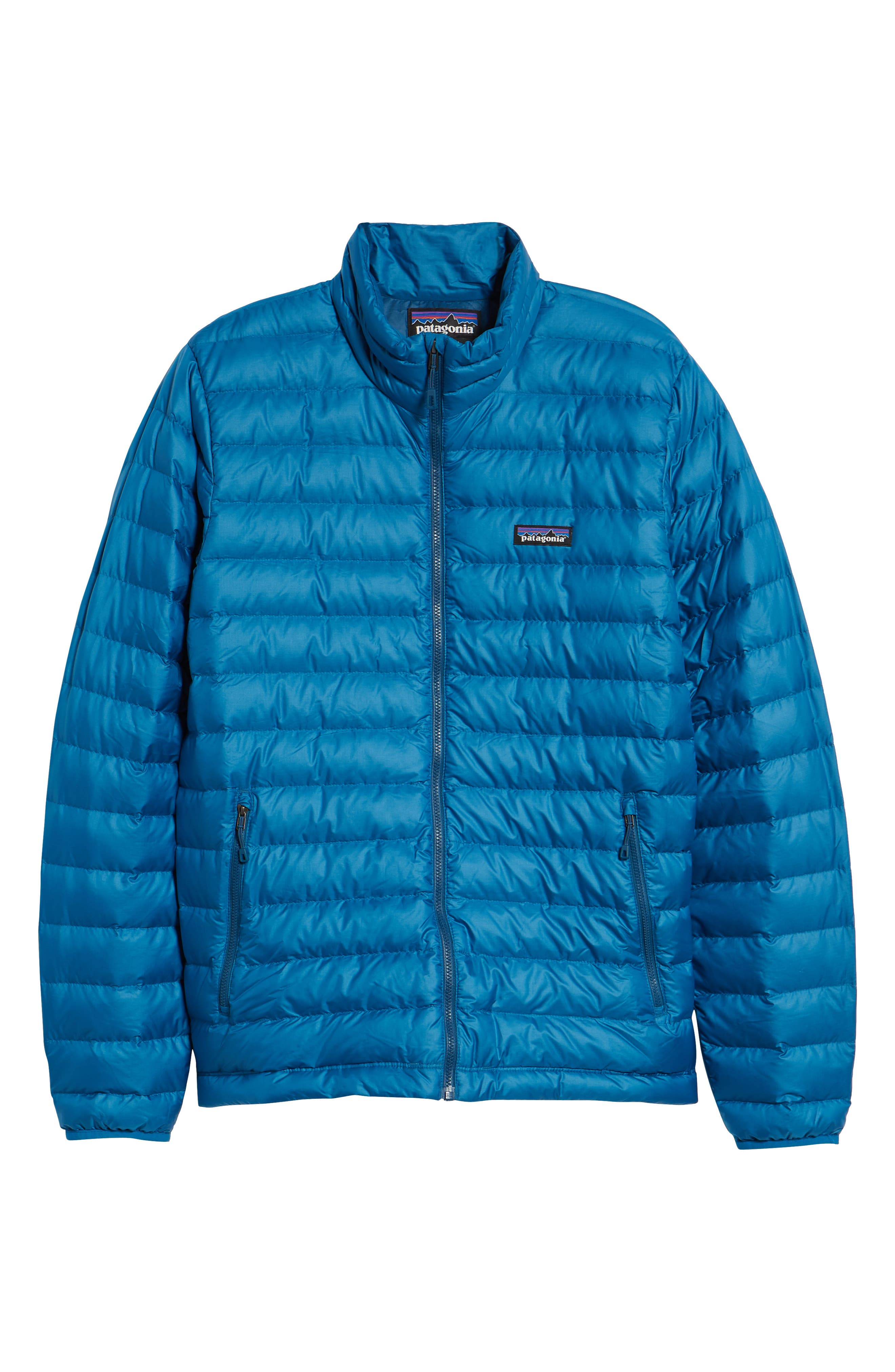 Water Repellent Down Jacket,                             Alternate thumbnail 85, color,