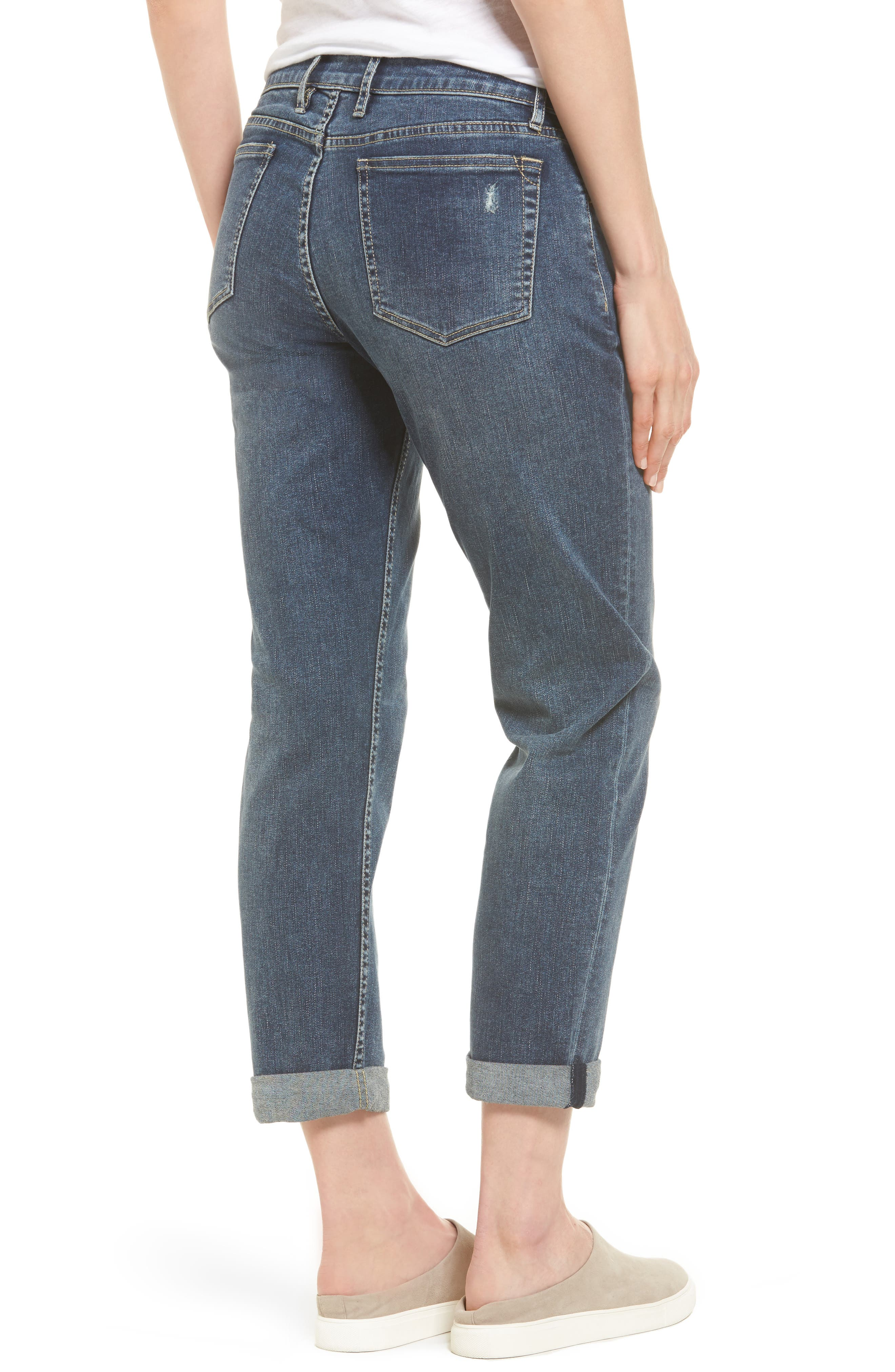Tema Slim Boyfriend Jeans,                             Alternate thumbnail 4, color,