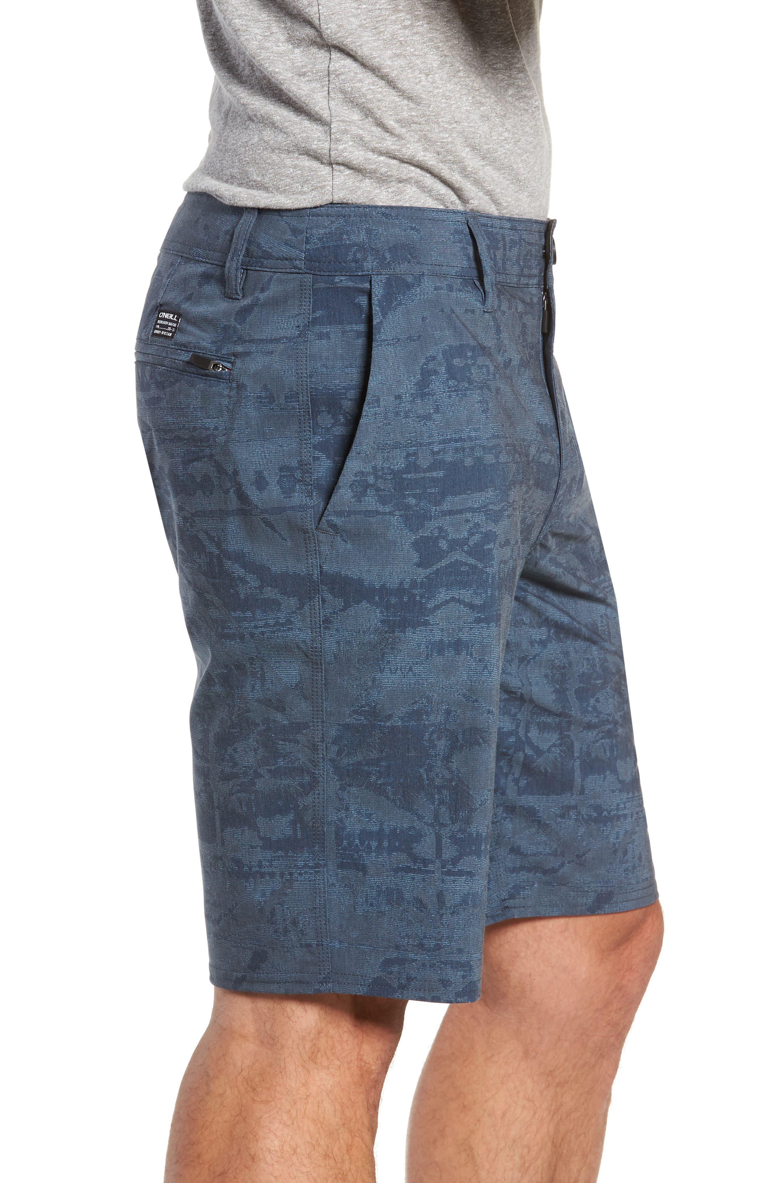 Mixed Hybrid Shorts,                             Alternate thumbnail 3, color,                             NAVY