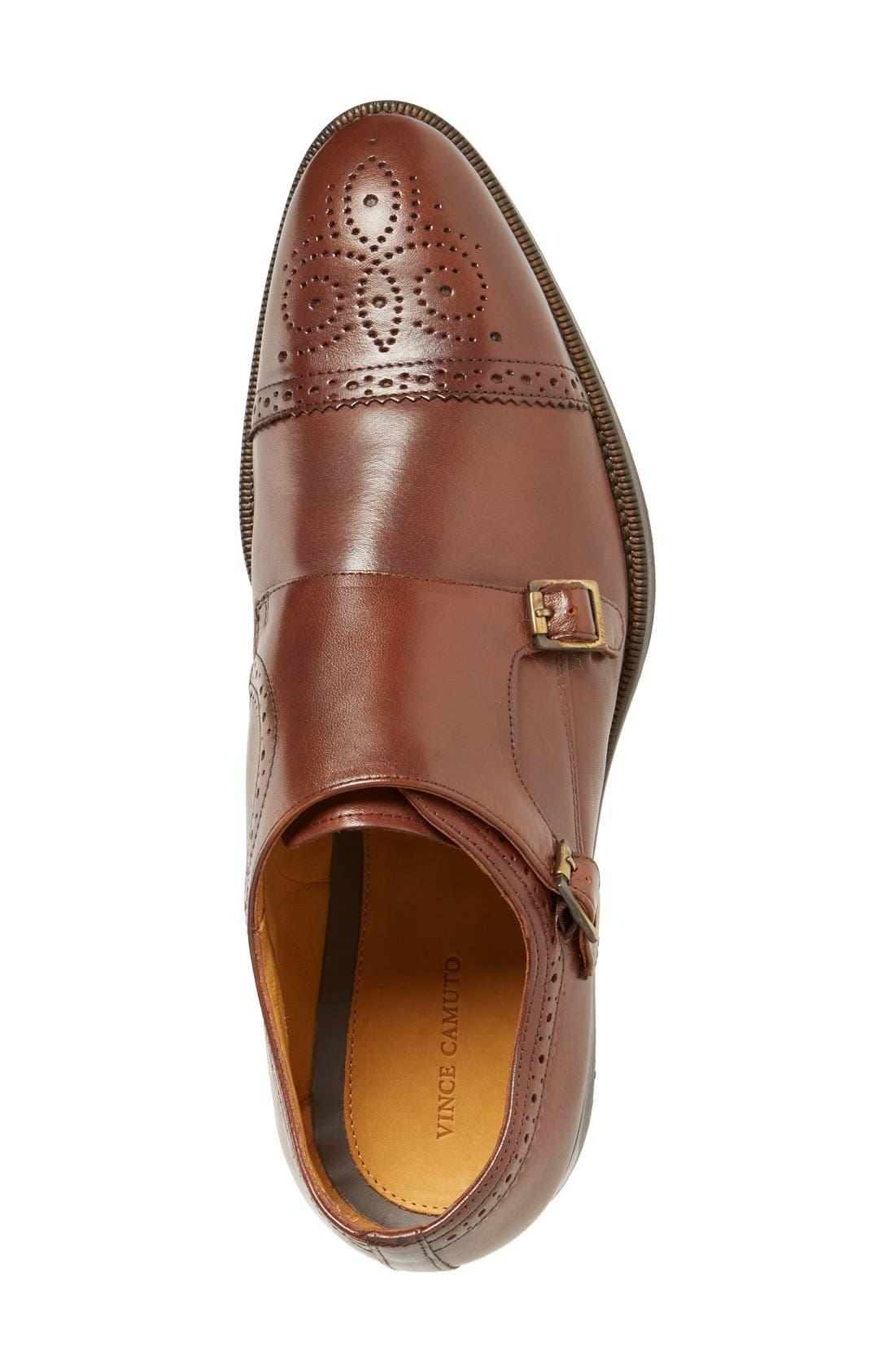 'Briant' Double Monk Strap Shoe,                             Alternate thumbnail 9, color,