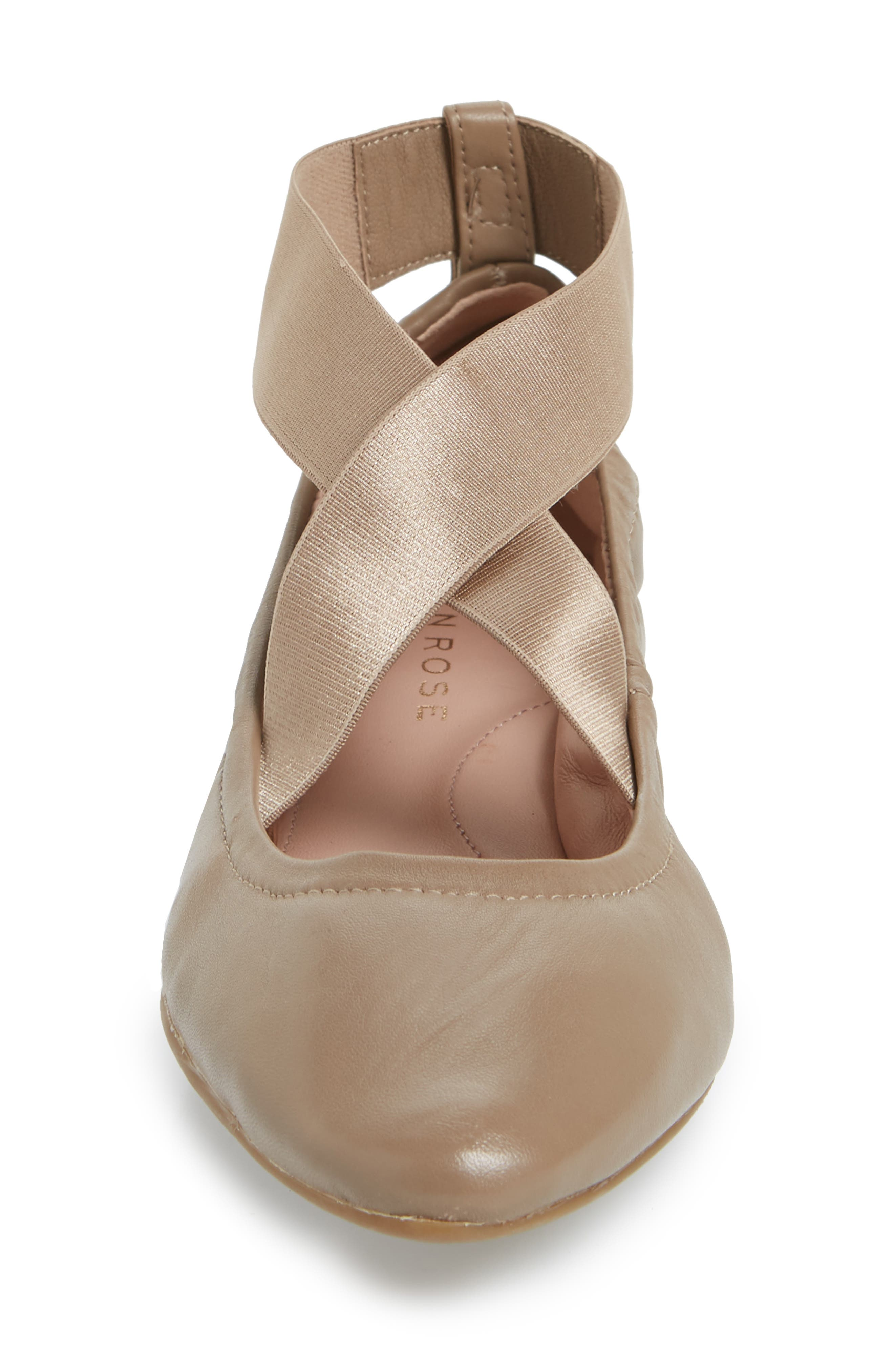 Edina Strappy Ballet Flat,                             Alternate thumbnail 4, color,                             260