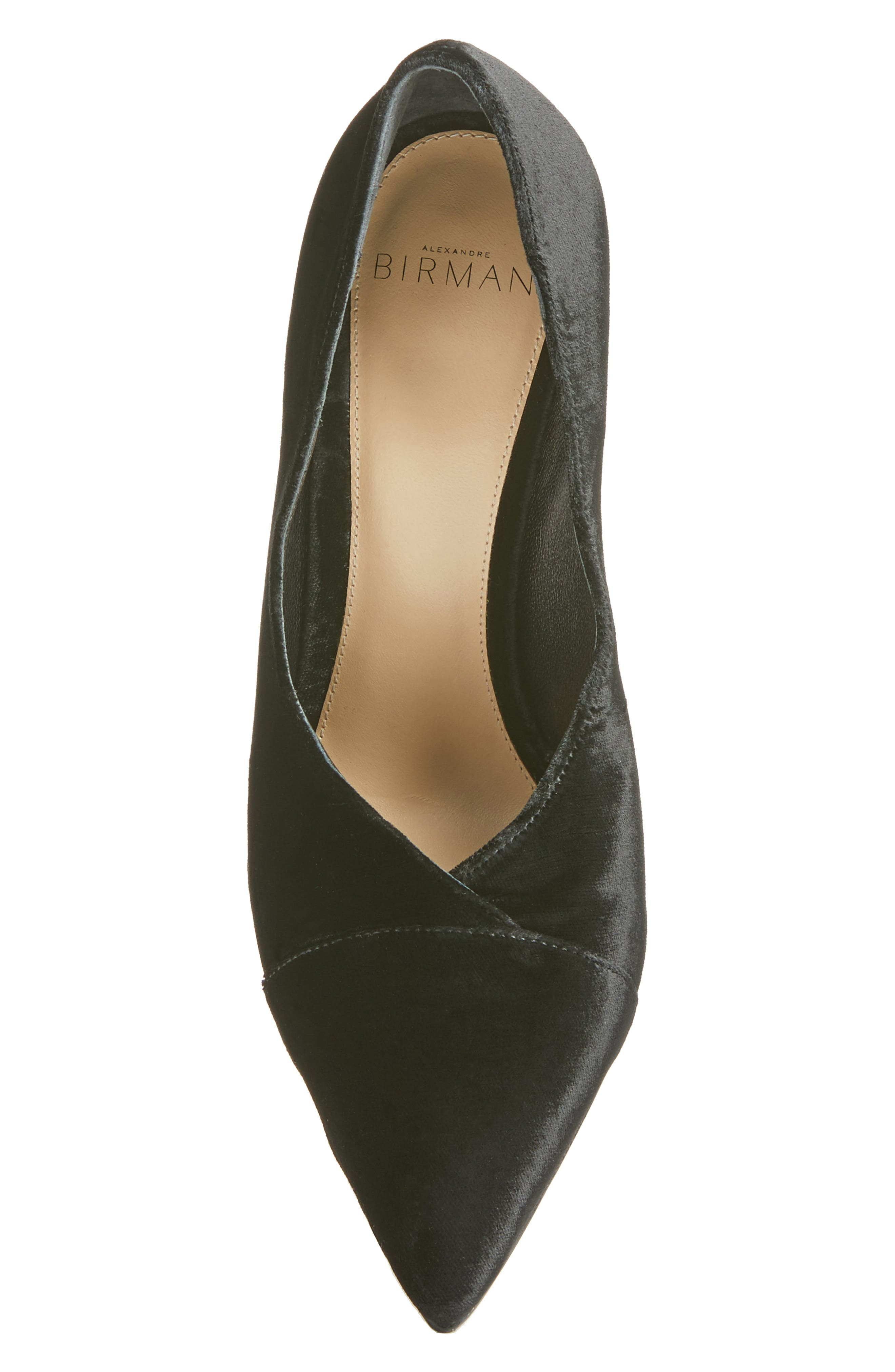 Clarice Pointy Toe Pump,                             Alternate thumbnail 5, color,                             001