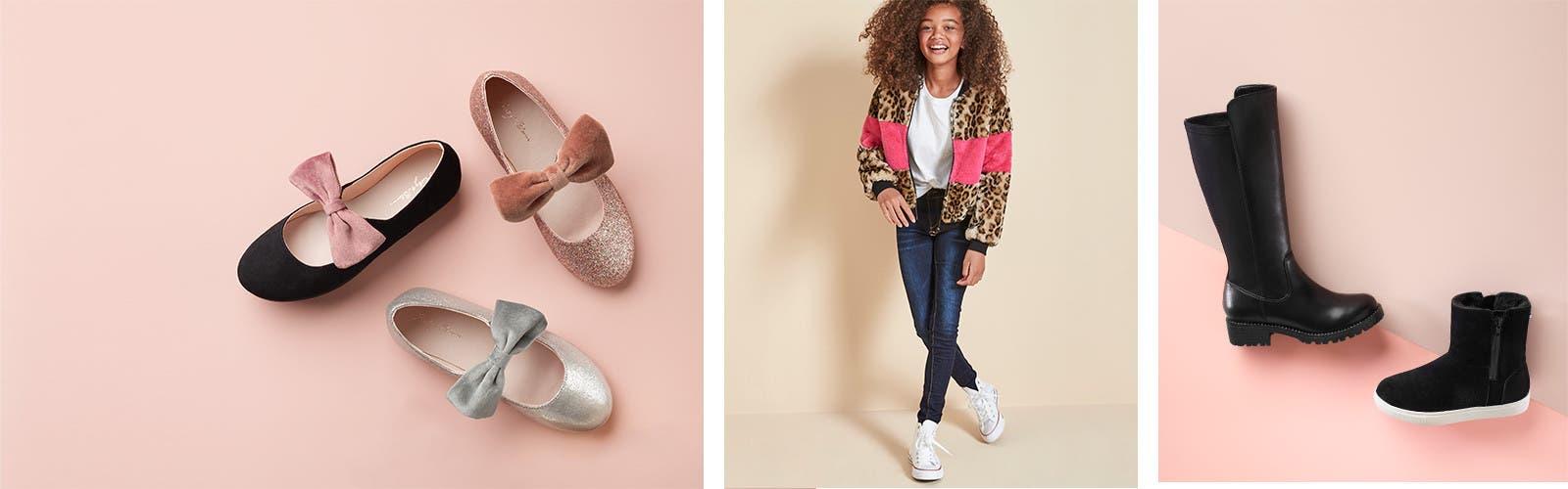 Girlsu0027 shoes for all her moods Girlsu0027