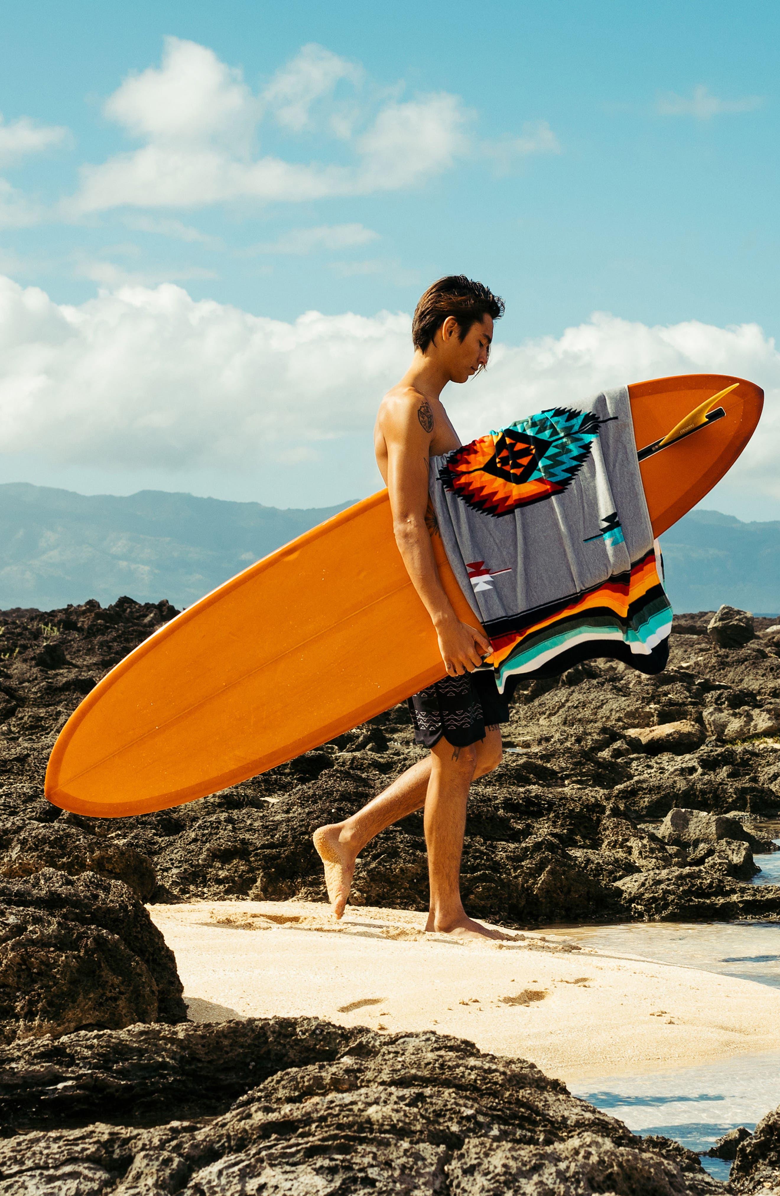 Valen Beach Towel,                             Alternate thumbnail 5, color,                             020