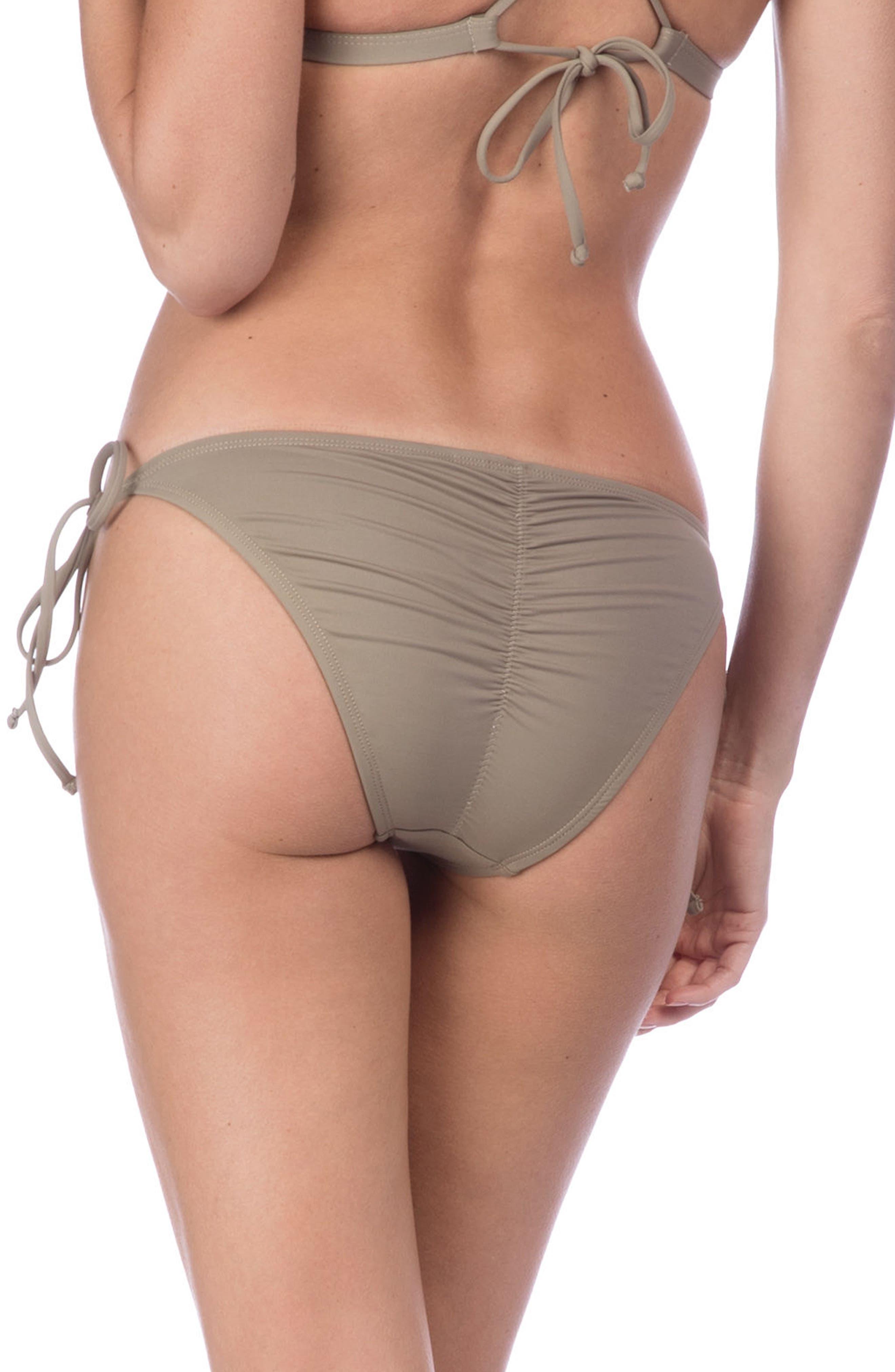 Deco Side Tie Bikini Bottoms,                             Alternate thumbnail 2, color,                             020
