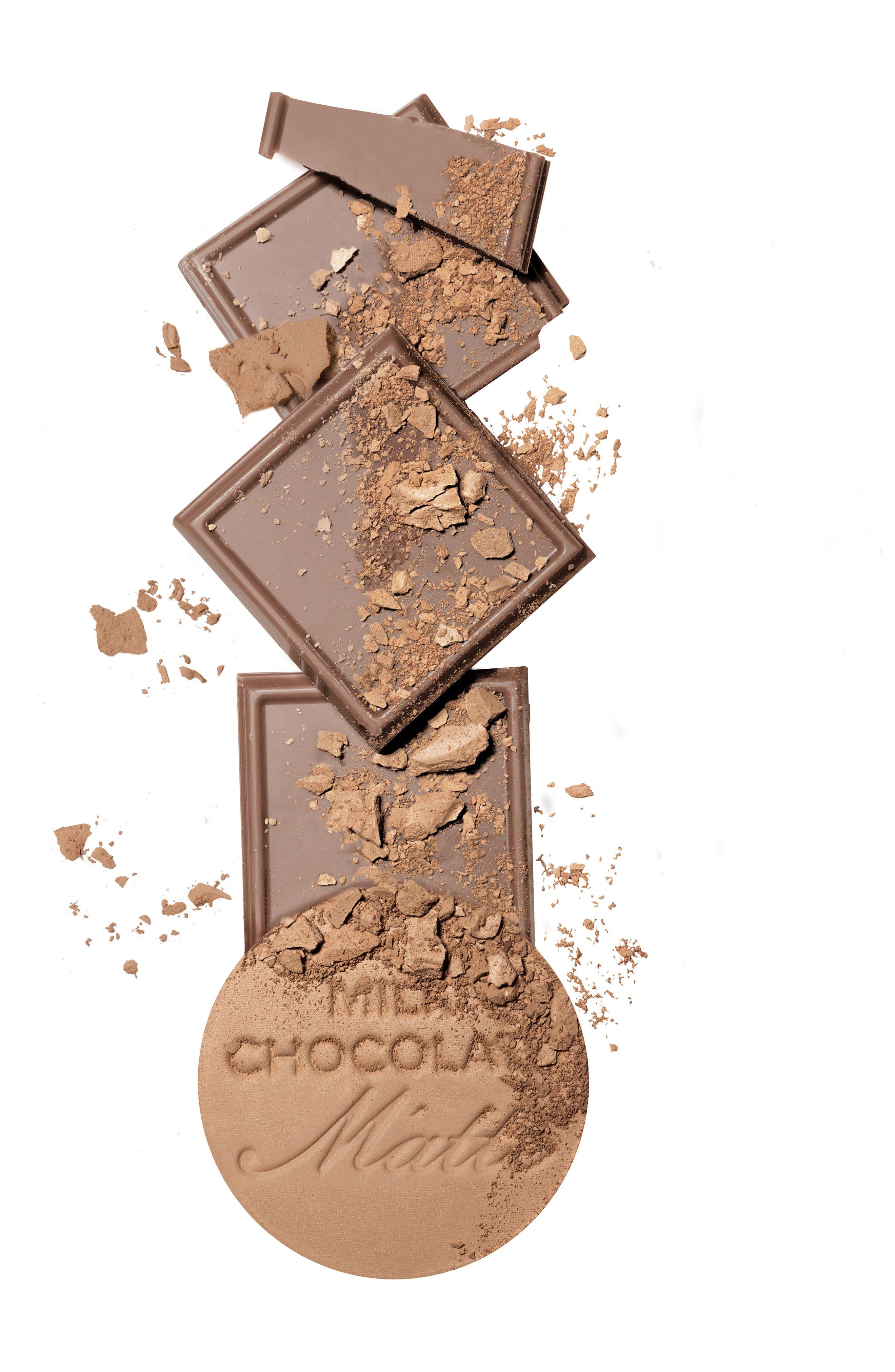 TOO FACED,                             Chocolate Soleil Bronzer,                             Alternate thumbnail 6, color,                             MILK CHOCOLATE SOLEIL