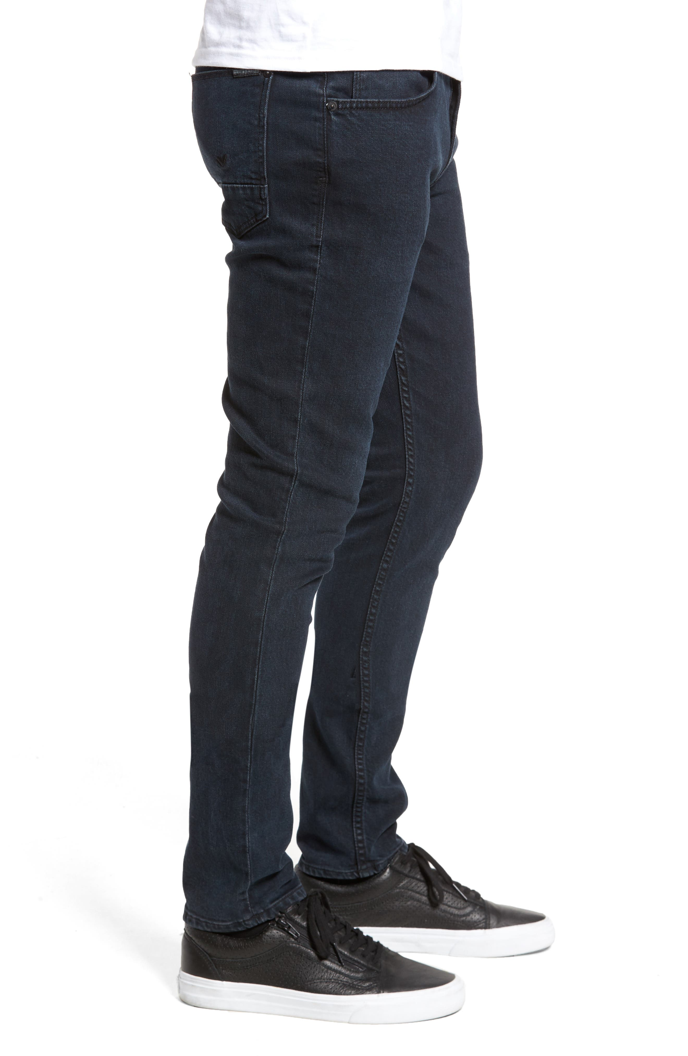 Axl Skinny Fit Jeans,                             Alternate thumbnail 3, color,                             401