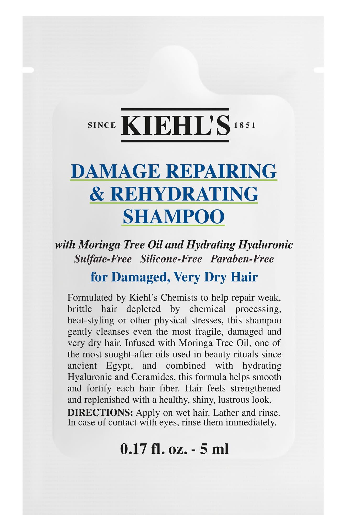 Damage Repairing & Rehydrating Shampoo,                             Alternate thumbnail 5, color,                             NO COLOR