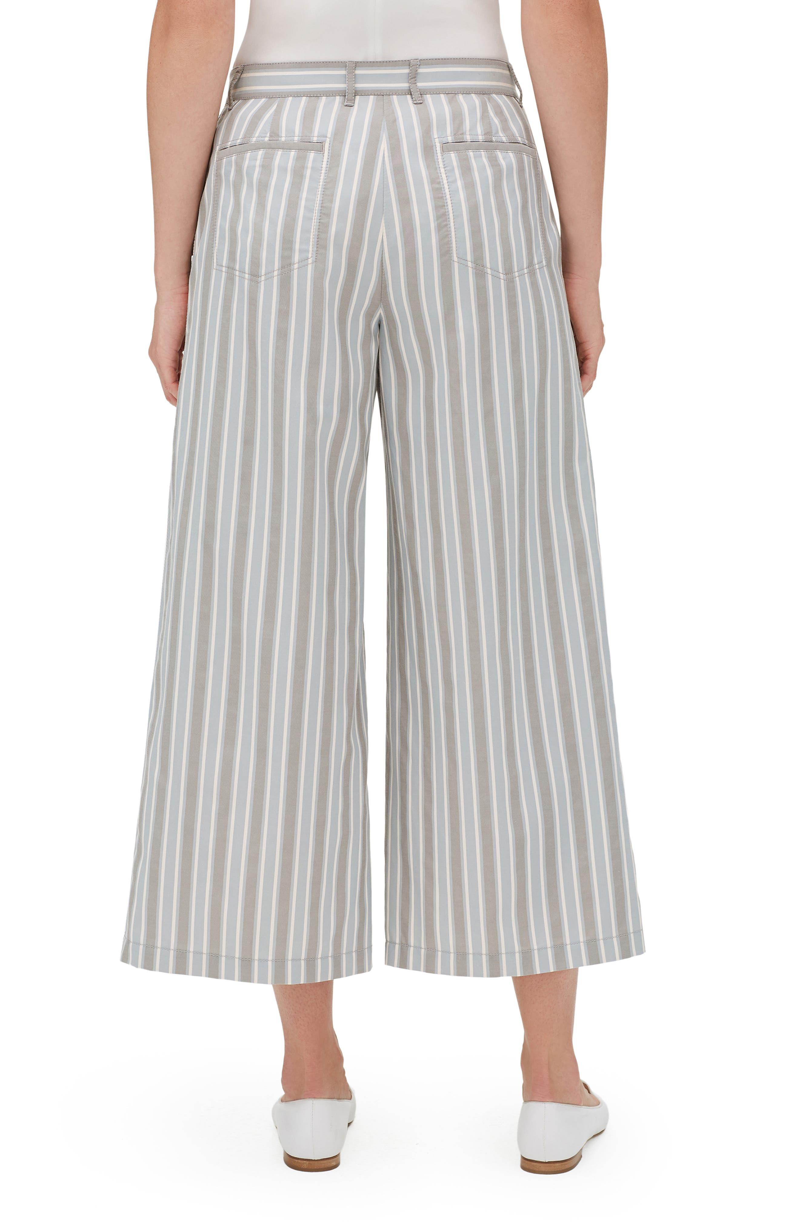 Fulton Elixir Stripe Crop Wide Leg Pants,                             Alternate thumbnail 2, color,                             MERCURY MULTI