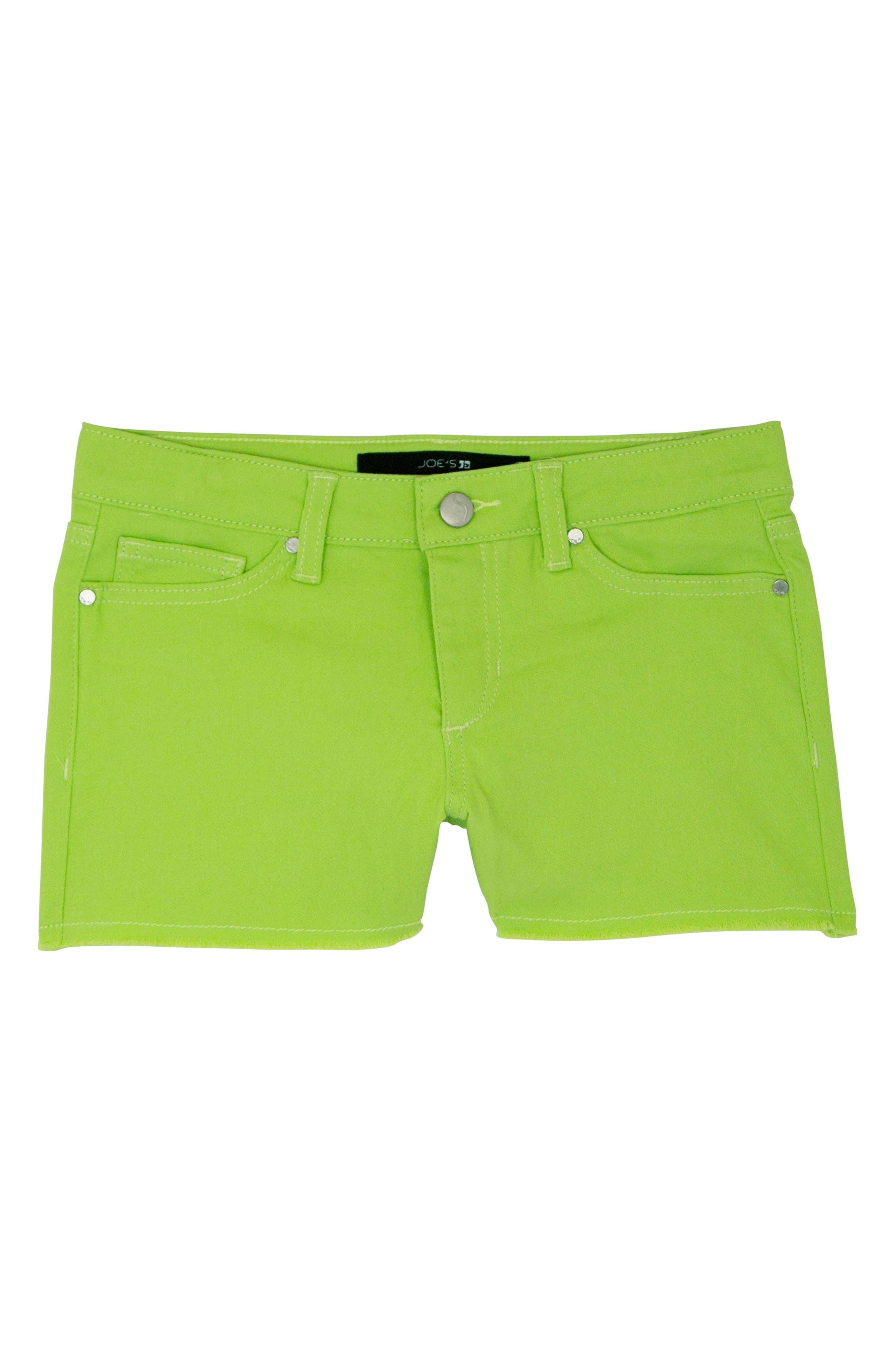 Frayed Cotton Shorts,                             Main thumbnail 1, color,                             360