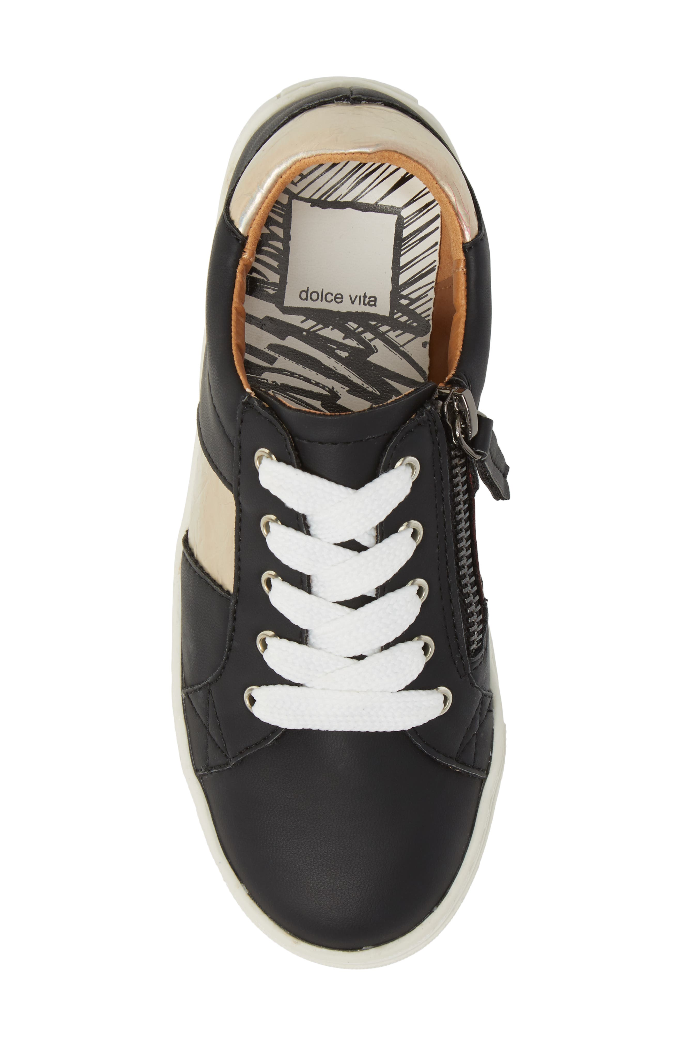 Ziggy Sneaker,                             Alternate thumbnail 5, color,                             001