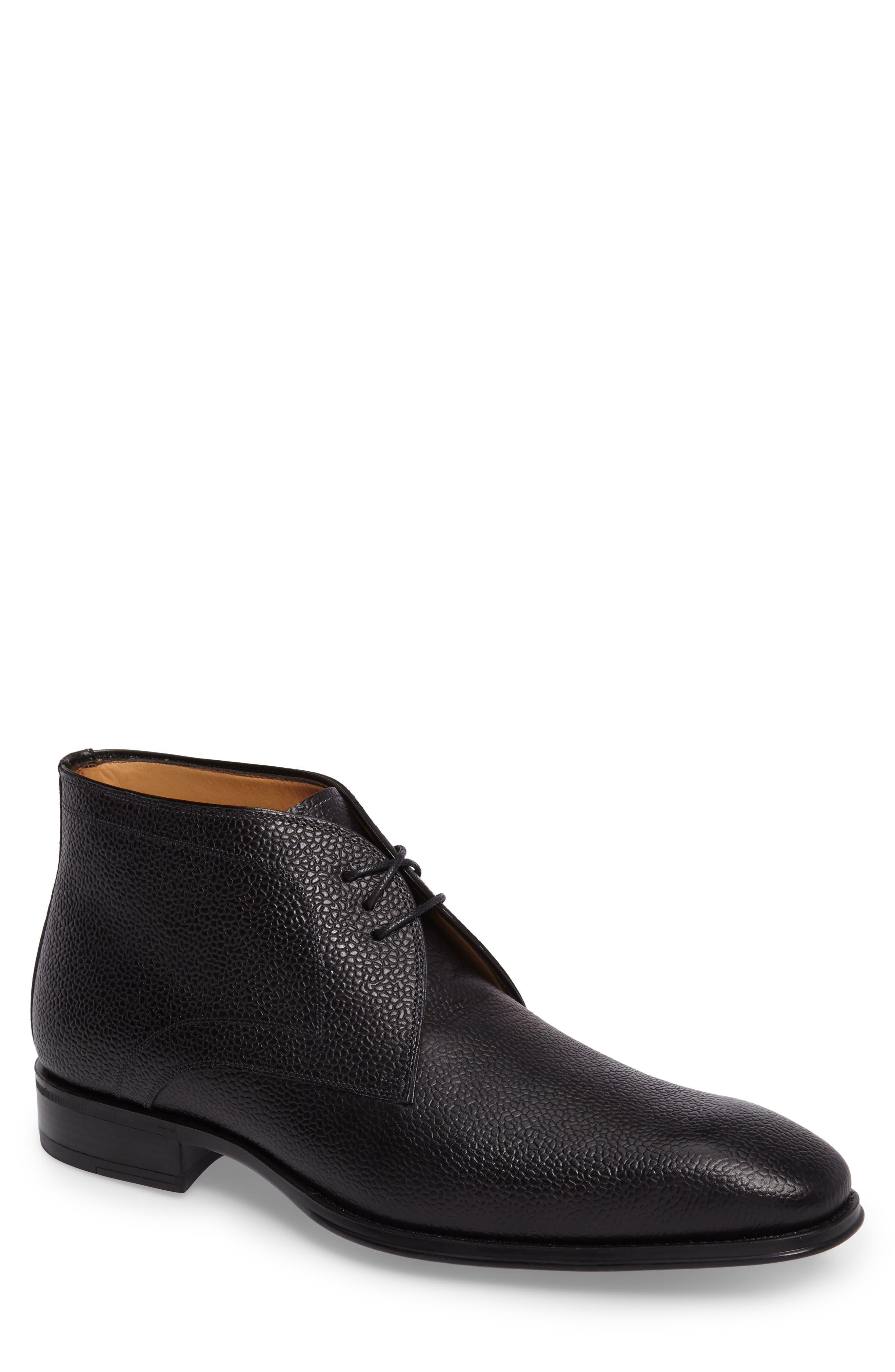 Cabra Plain Toe Derby,                         Main,                         color, BLACK LEATHER