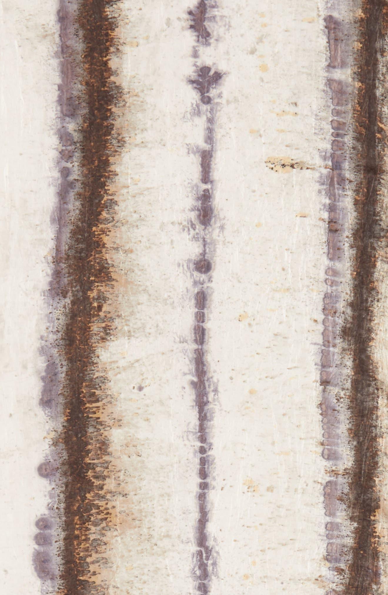 Stripe Silk Scarf,                             Alternate thumbnail 4, color,                             022