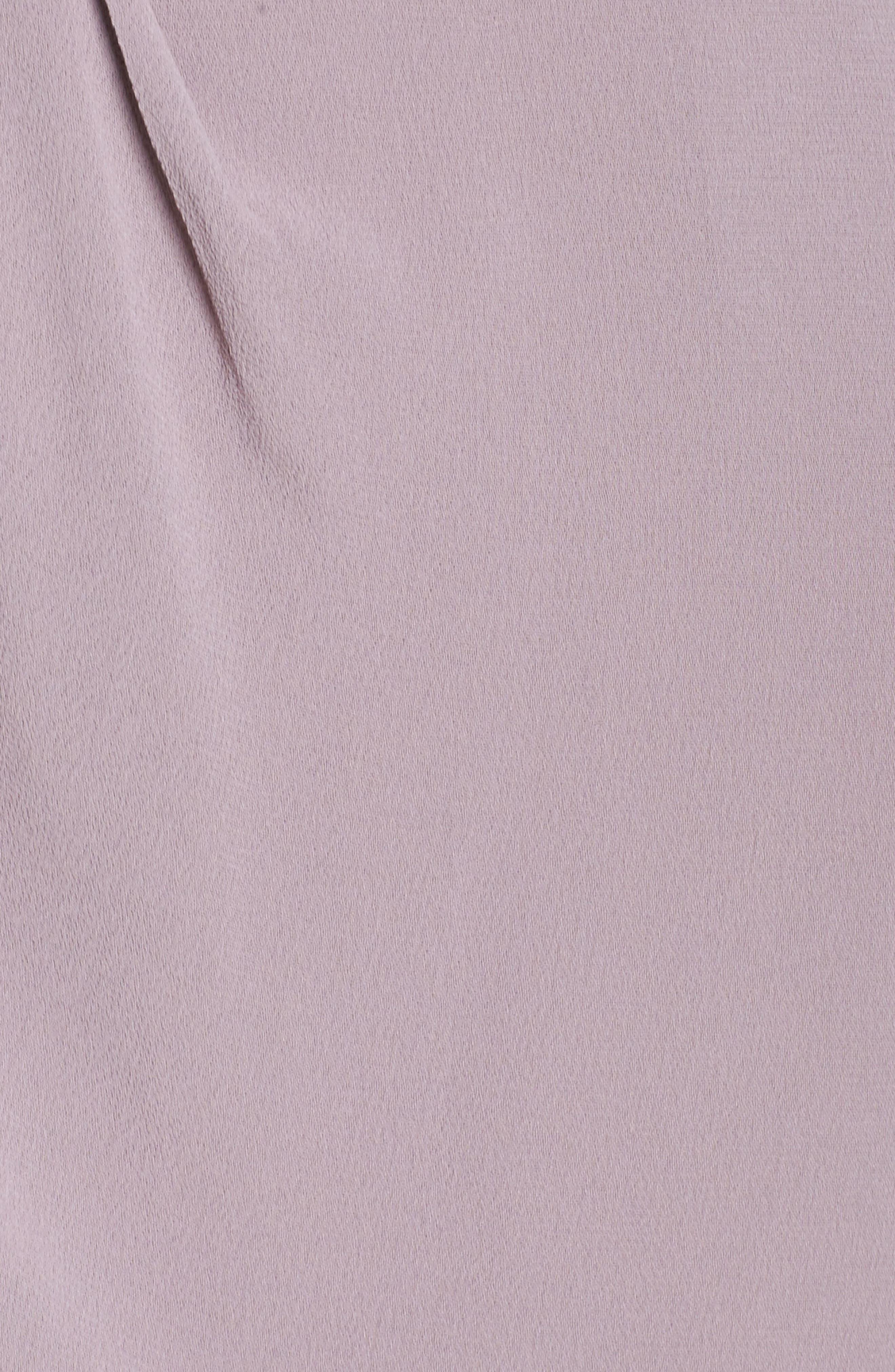 Stilla Asymmetric Drape Dress,                             Alternate thumbnail 5, color,