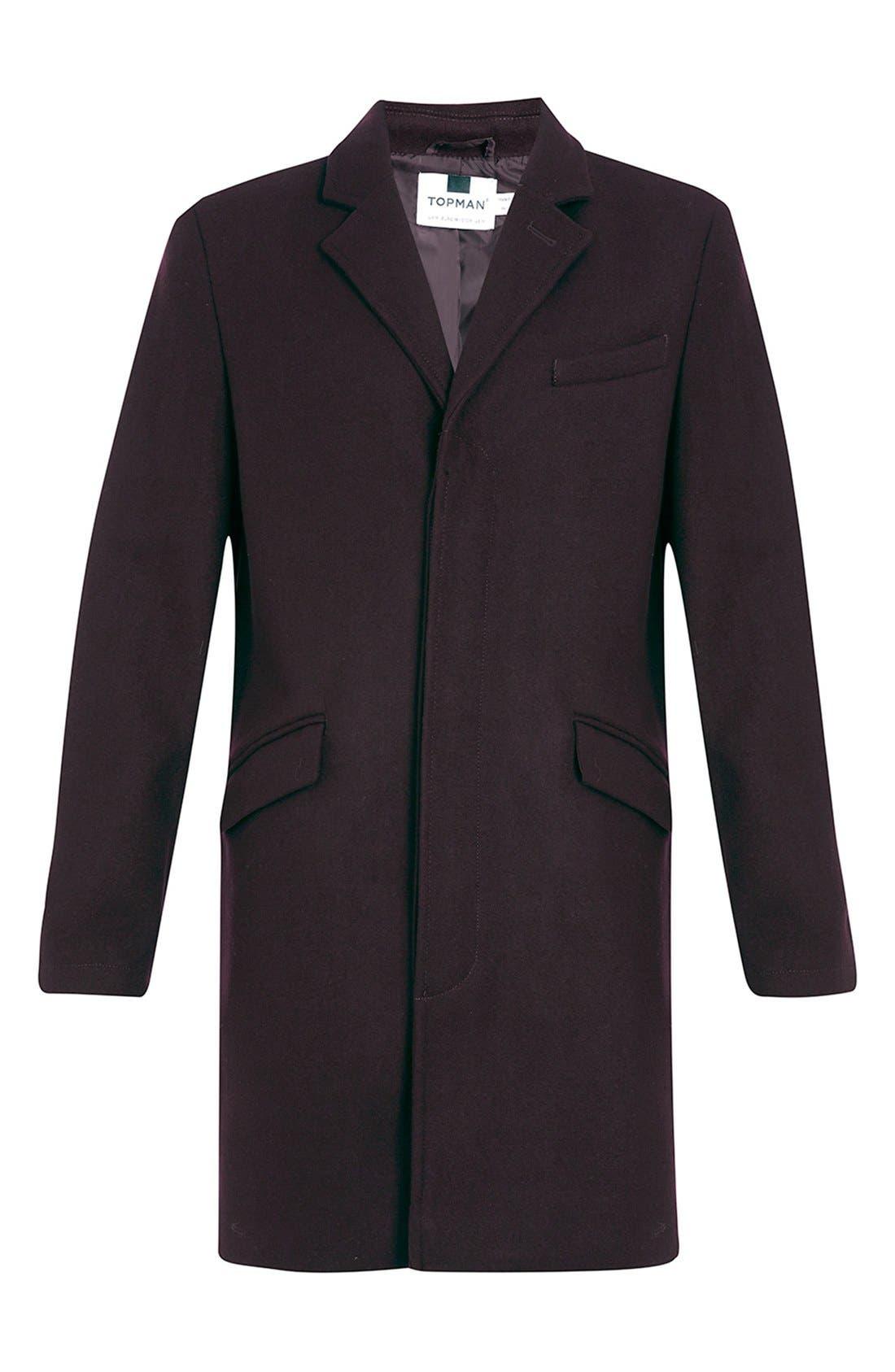 Burgundy Topcoat,                             Alternate thumbnail 3, color,                             930