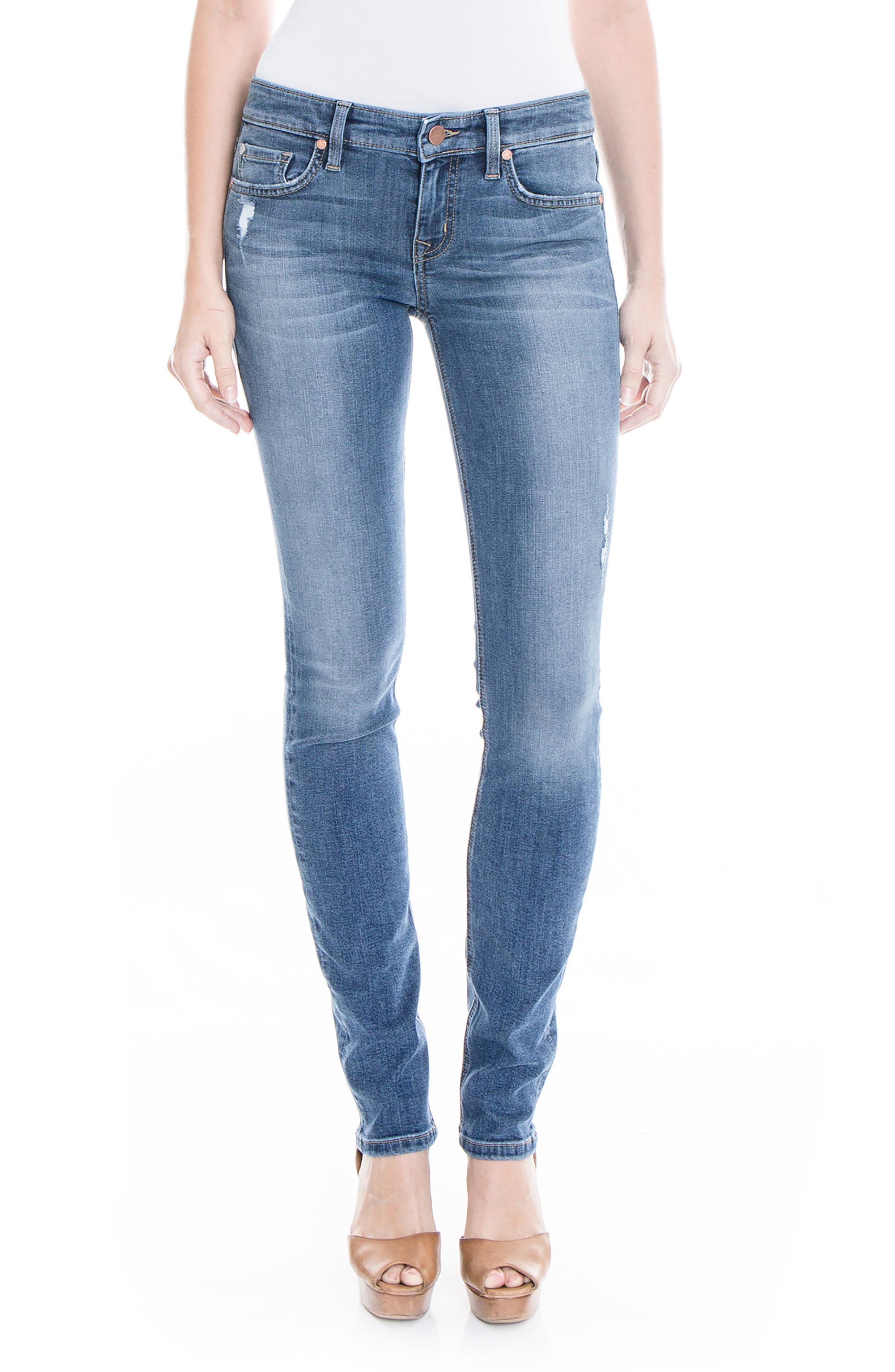 Lily Stretch Skinny Jeans,                             Main thumbnail 2, color,
