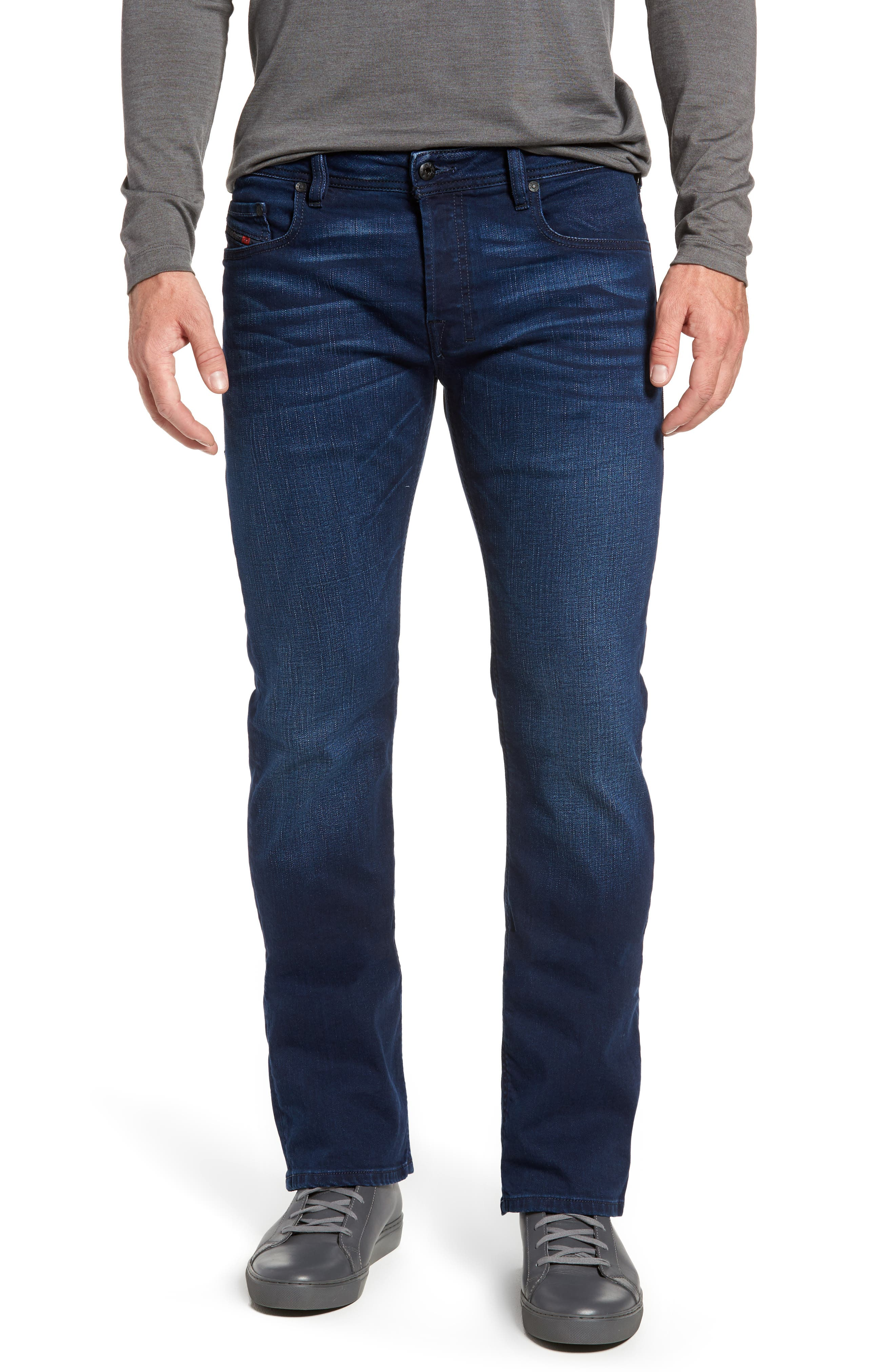 Zatiny Bootcut Jeans,                         Main,                         color, 400