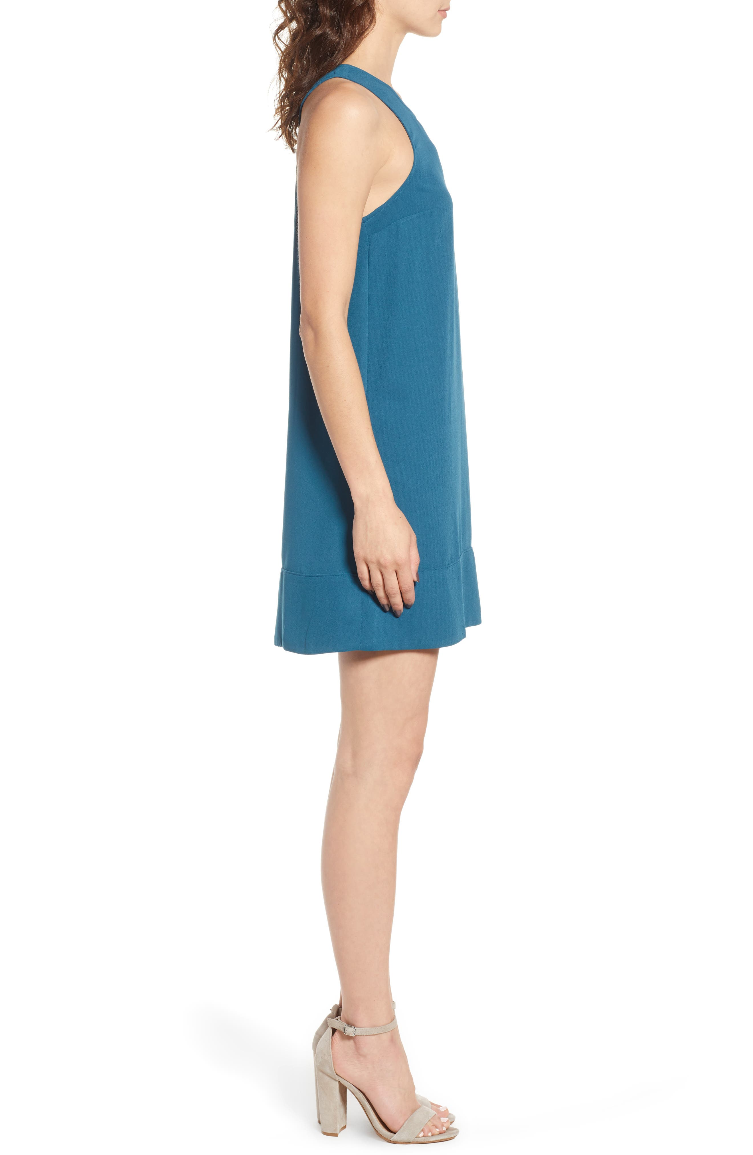 Racerback Shift Dress,                             Alternate thumbnail 95, color,