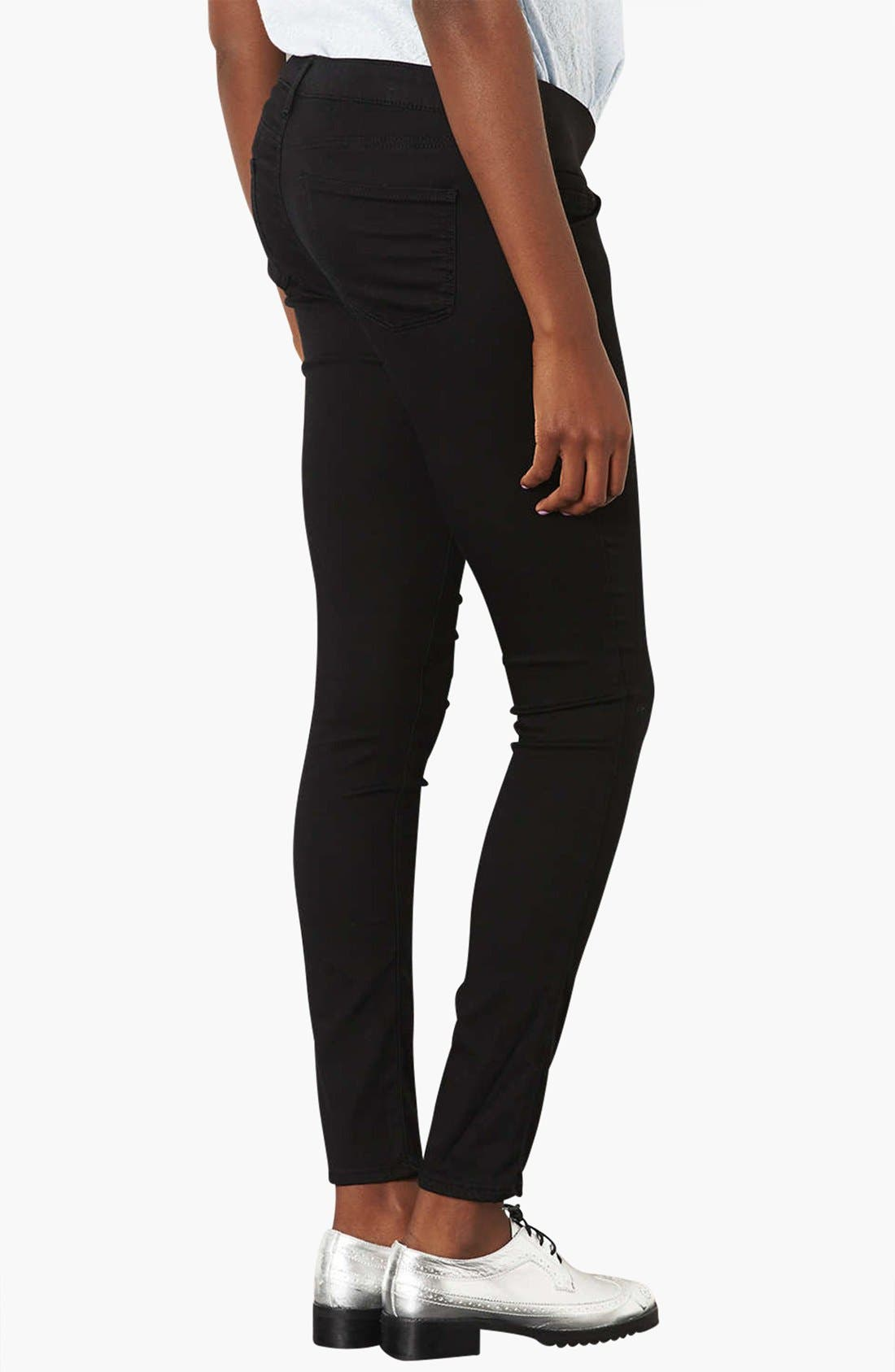 'Leigh' Maternity Jeans,                             Alternate thumbnail 2, color,                             001