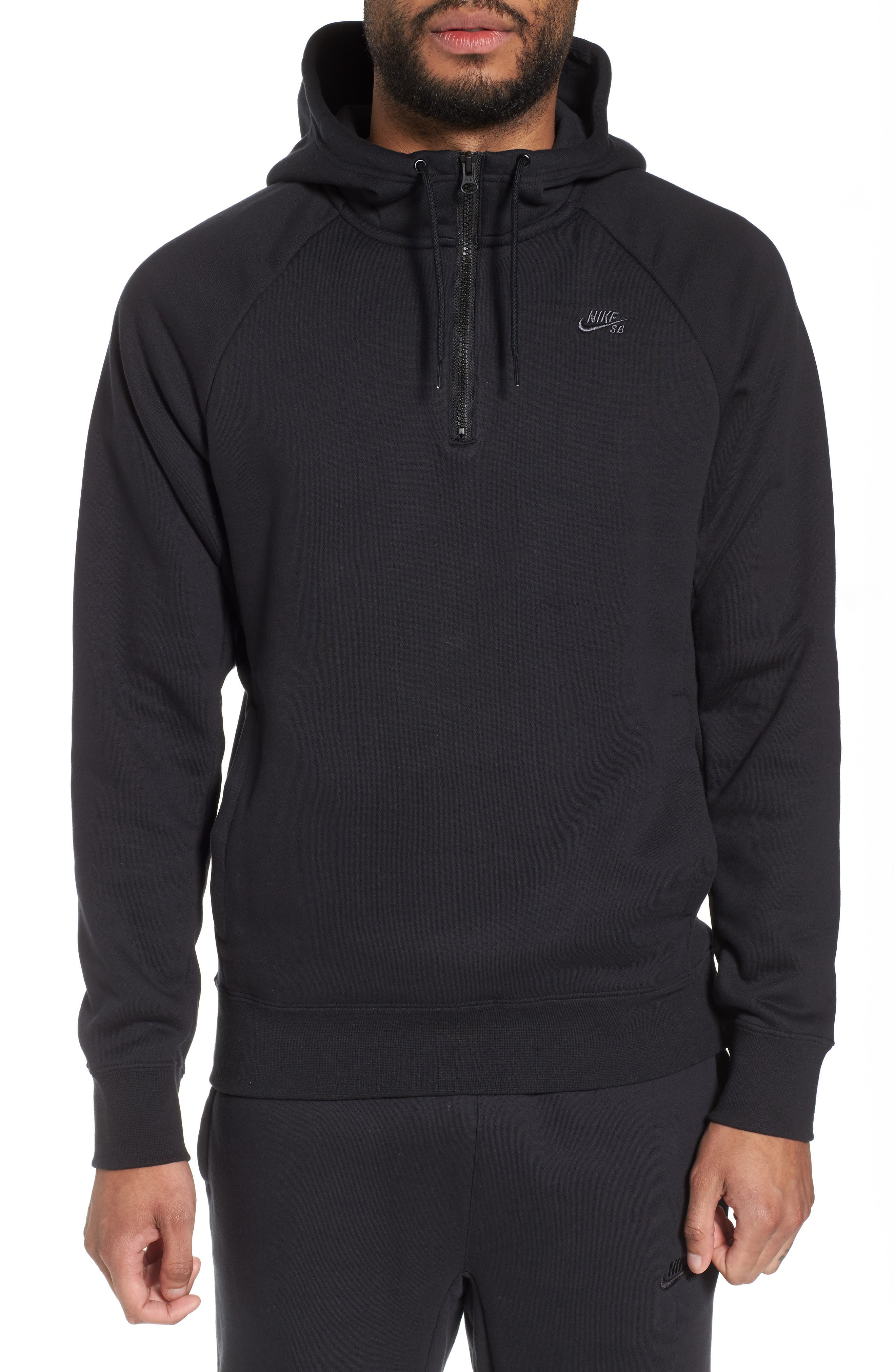 Icon Half-Zip Hoodie,                             Main thumbnail 1, color,                             011