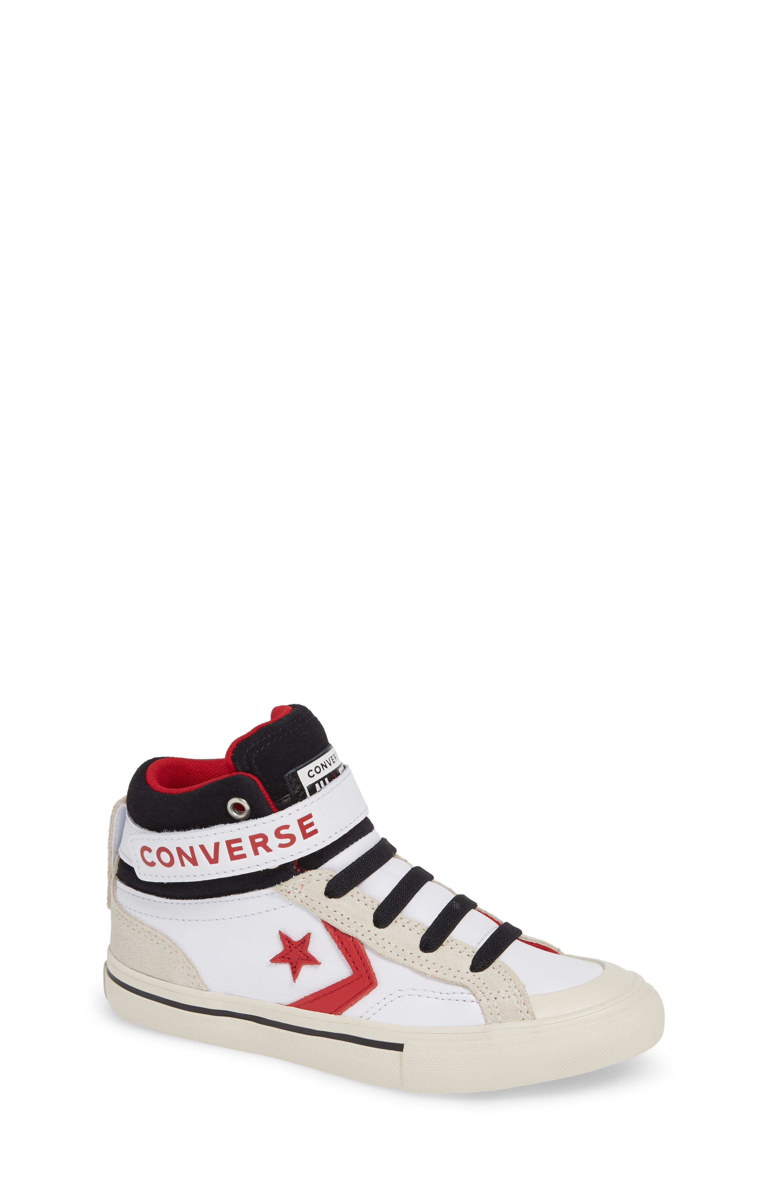 Boys Converse Pro Blaze High Top Sneaker Size 5 M  Blue