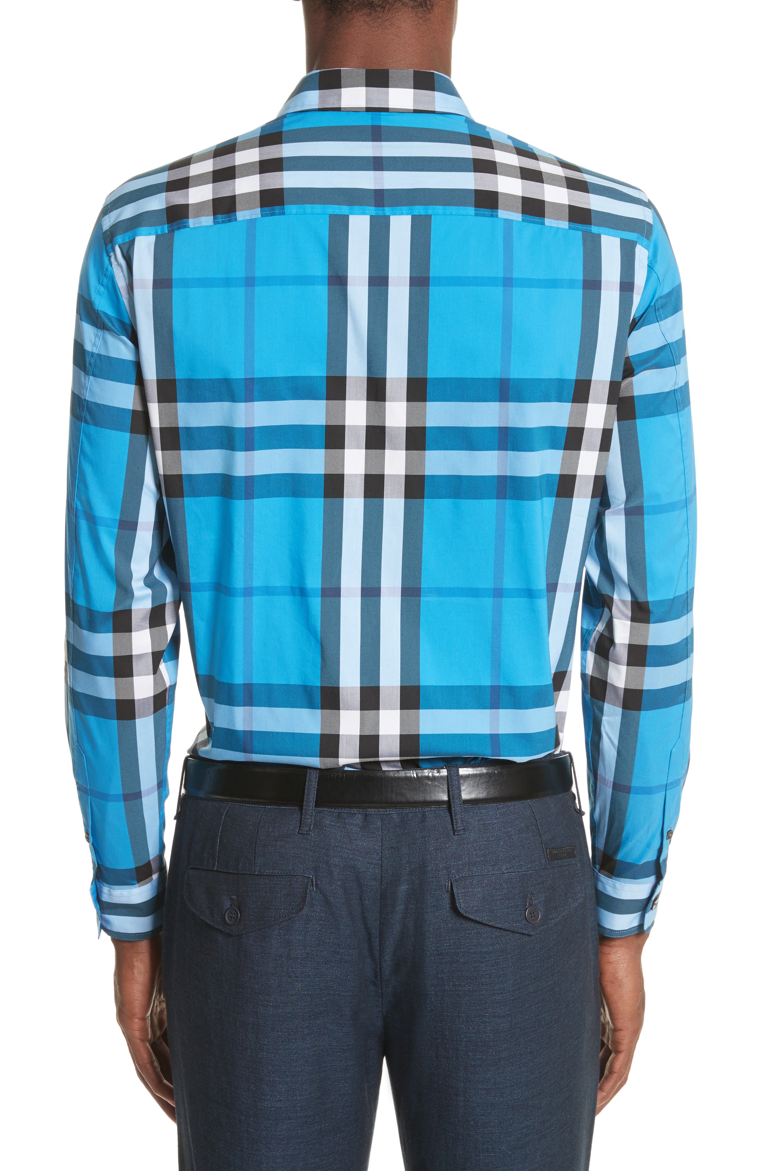 Nelson Check Sport Shirt,                             Alternate thumbnail 44, color,