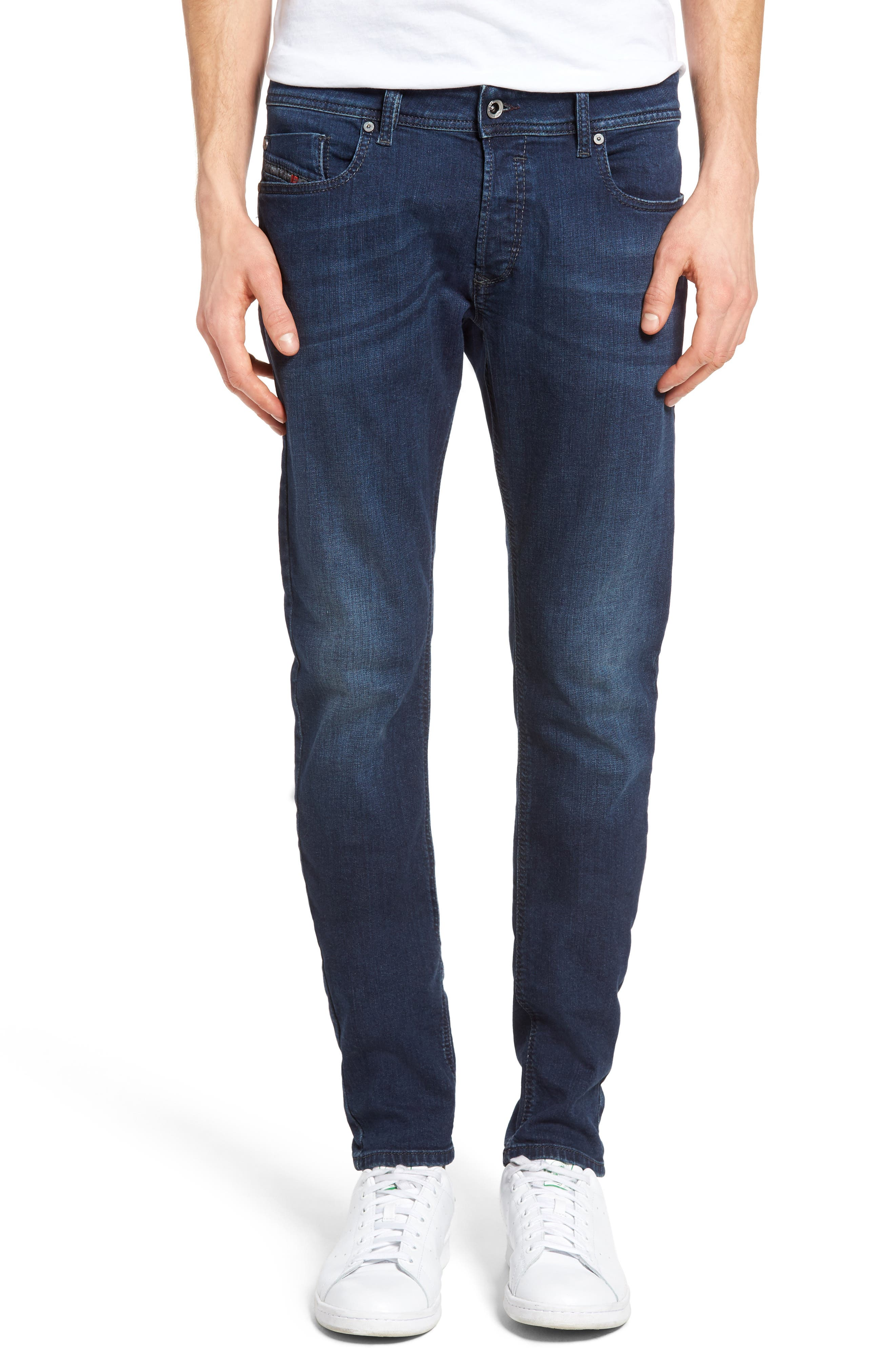 Sleenker Skinny Fit Jeans,                             Main thumbnail 1, color,                             400