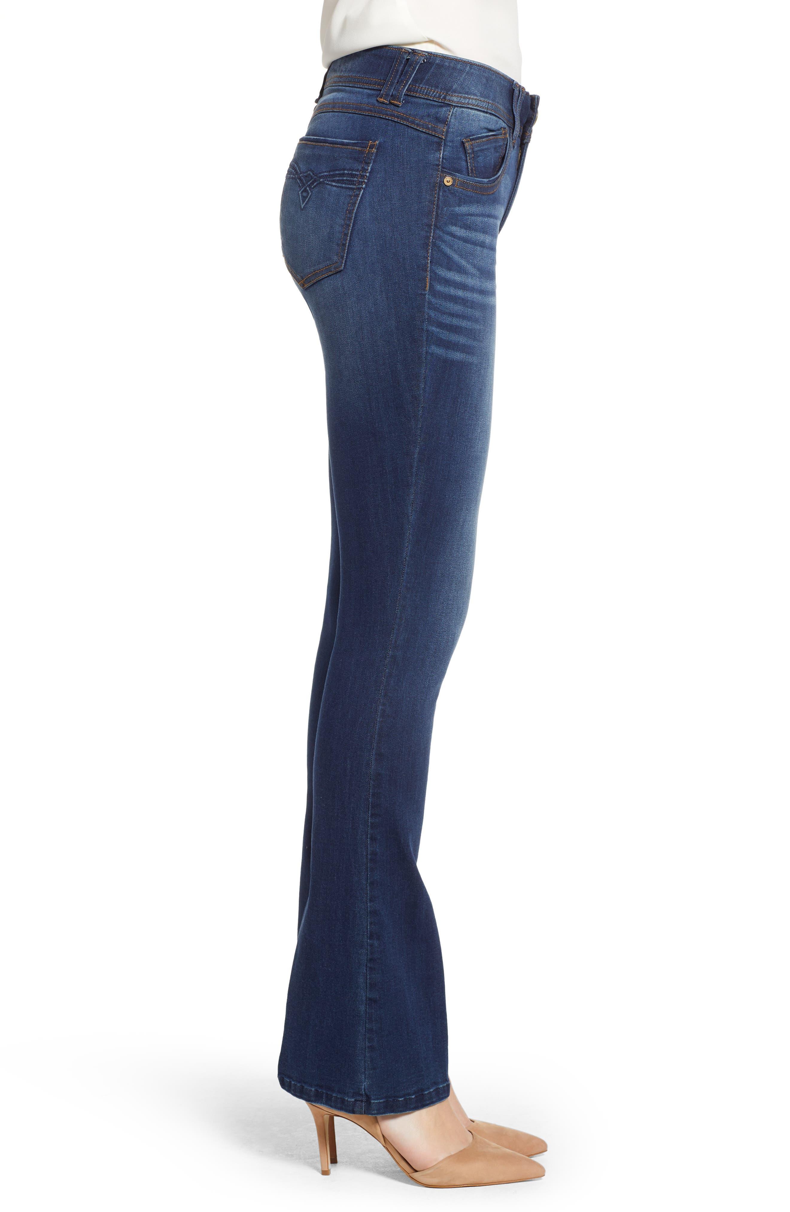 Ab-solution Luxe Touch Premium Jeans,                             Alternate thumbnail 3, color,                             420