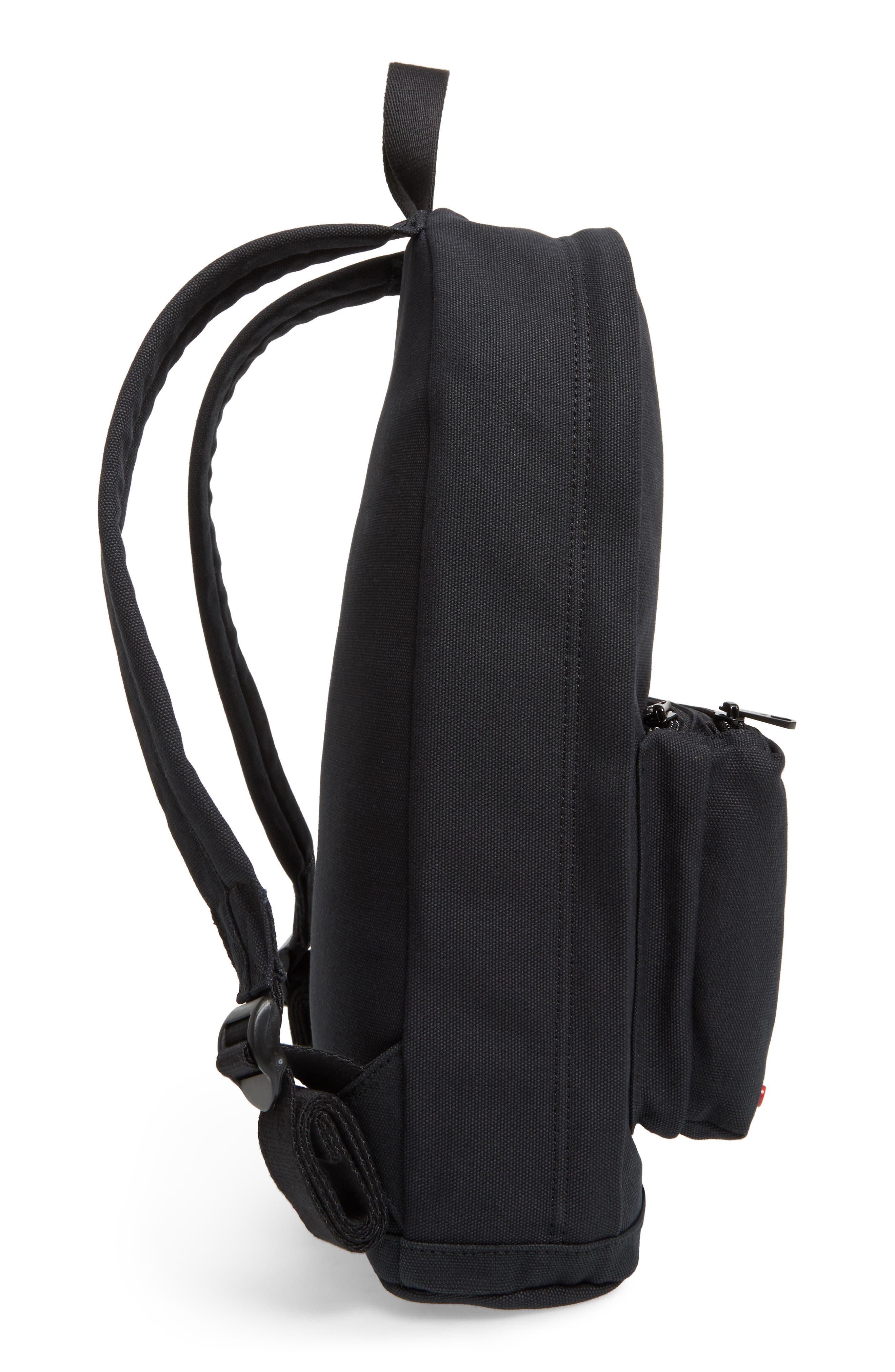 Canvas Slim Lorimer Backpack,                             Alternate thumbnail 5, color,                             001