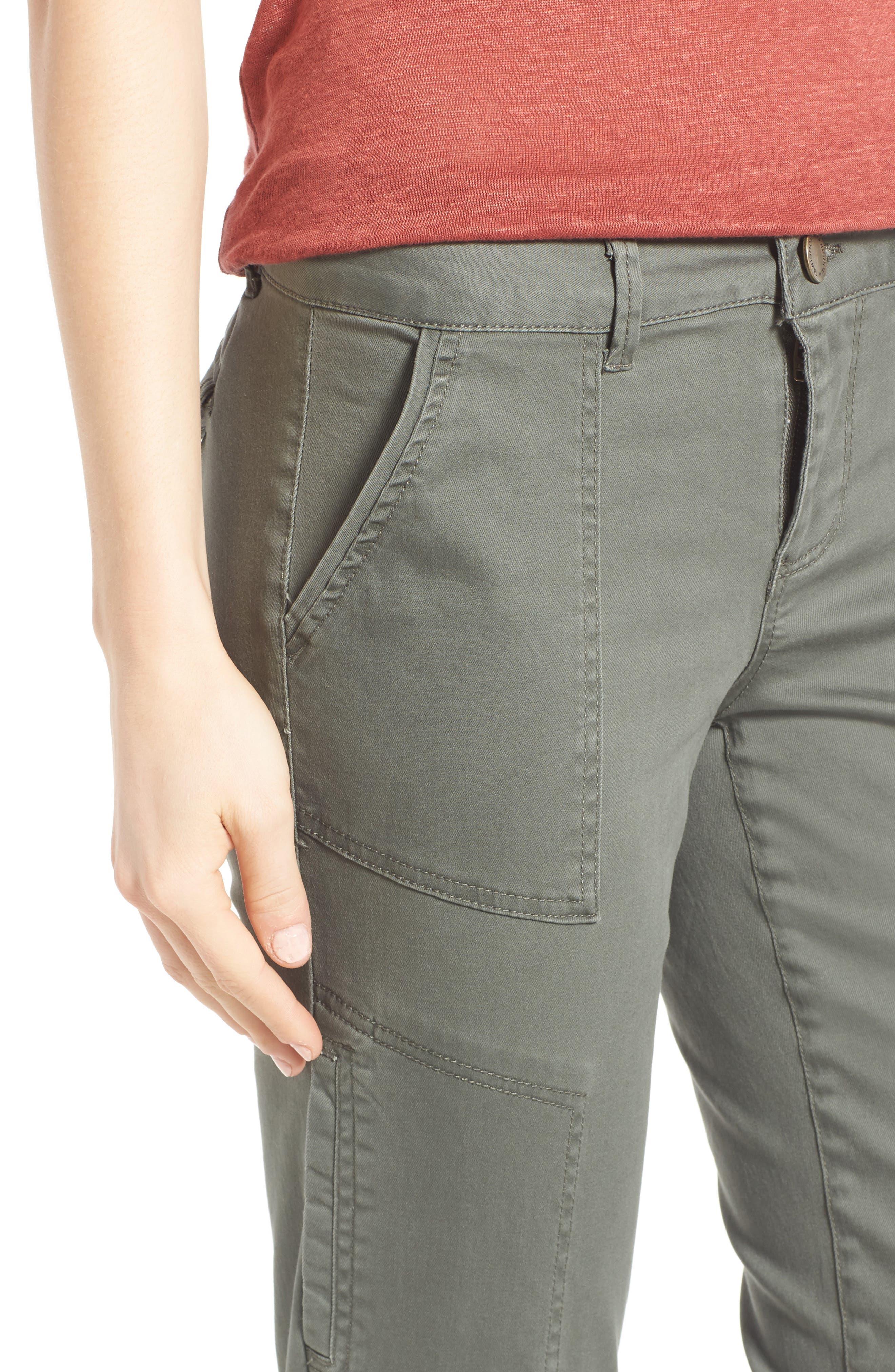 Skinny Cargo Pants,                             Alternate thumbnail 48, color,