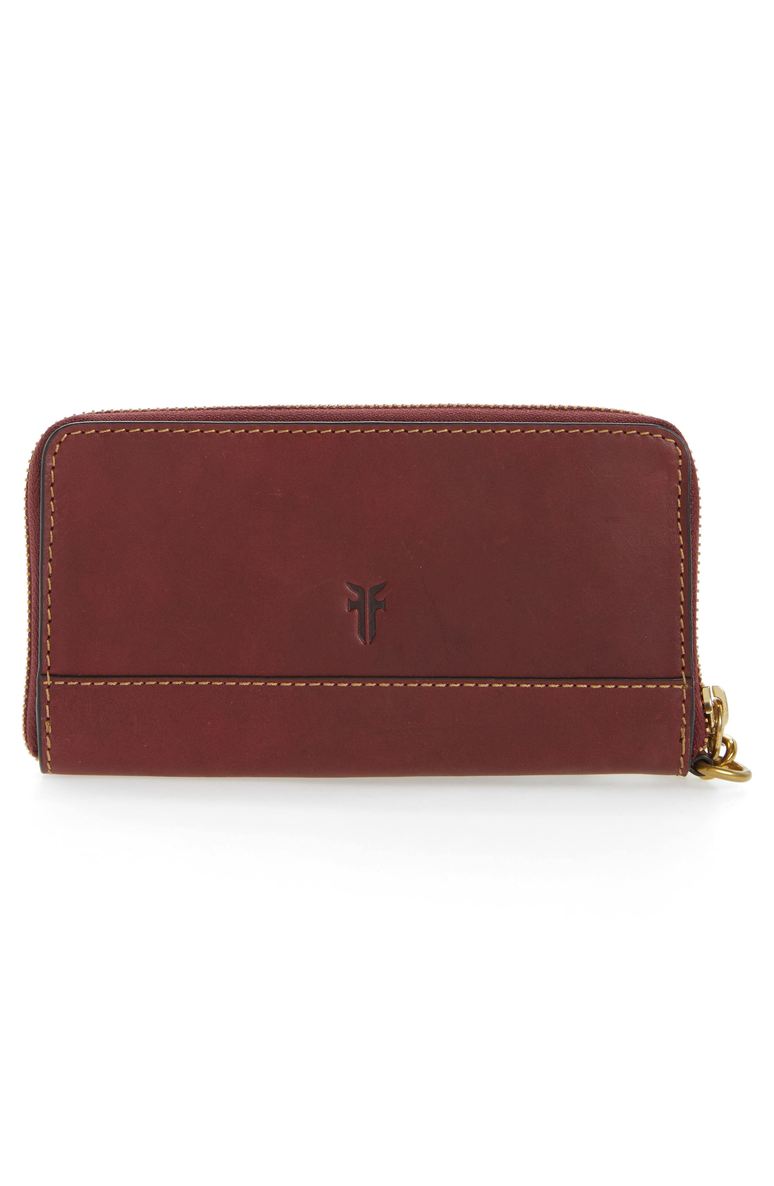 Ilana Harness Phone Leather Zip Wallet,                             Alternate thumbnail 6, color,