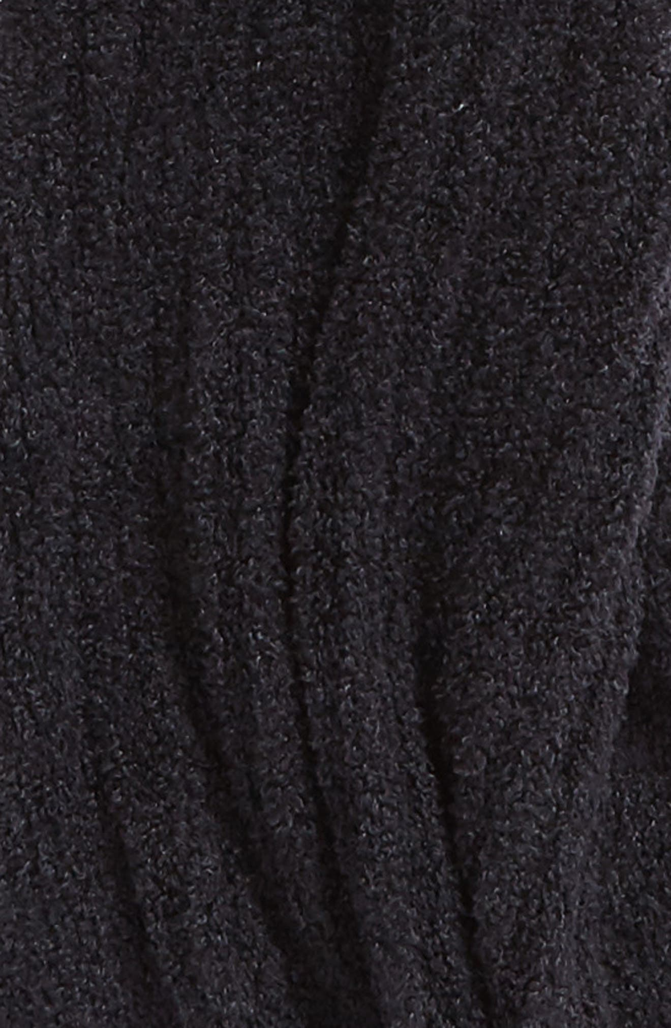 CozyChic Lite<sup>®</sup> Ribbed Scarf,                             Alternate thumbnail 3, color,                             001