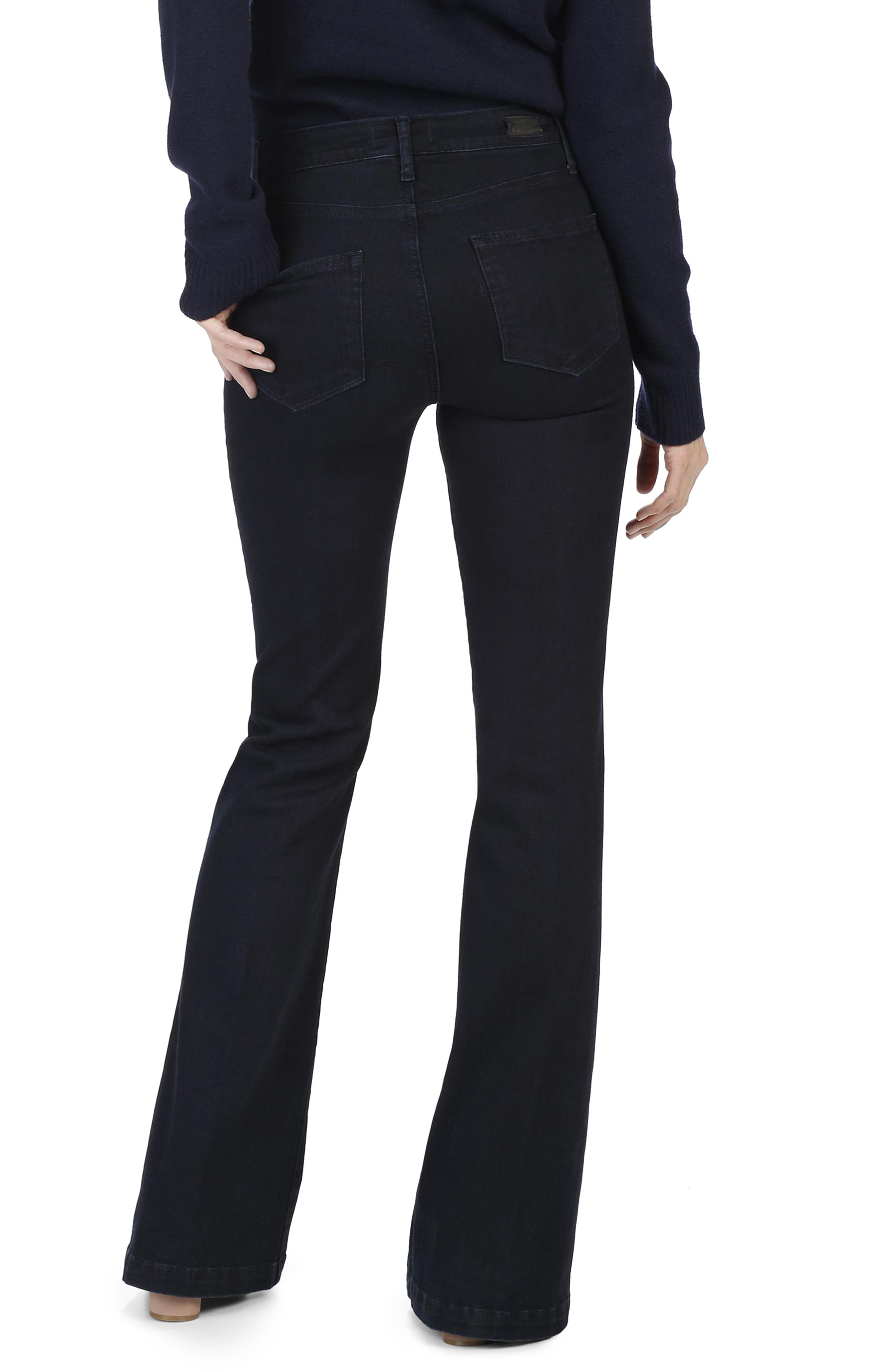 Legacy - Genevieve High Waist Flare Jeans,                             Alternate thumbnail 3, color,                             400