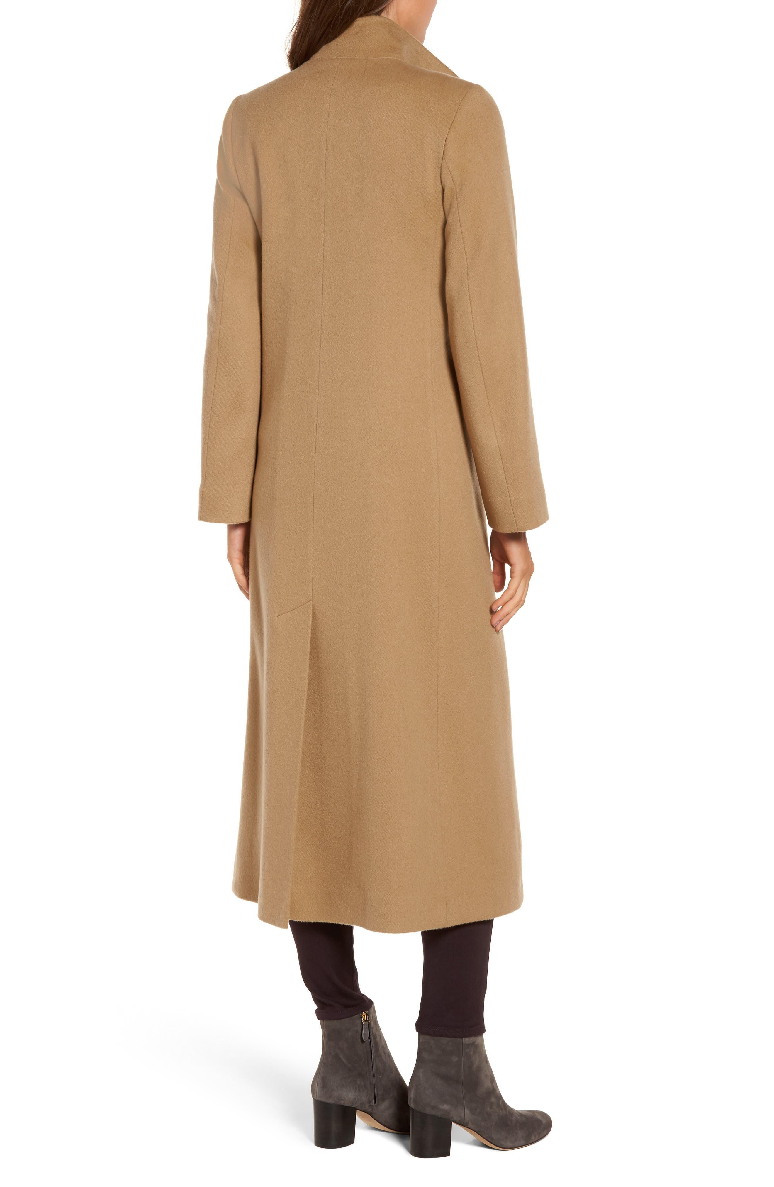 Cashmere Long Coat,                             Alternate thumbnail 4, color,
