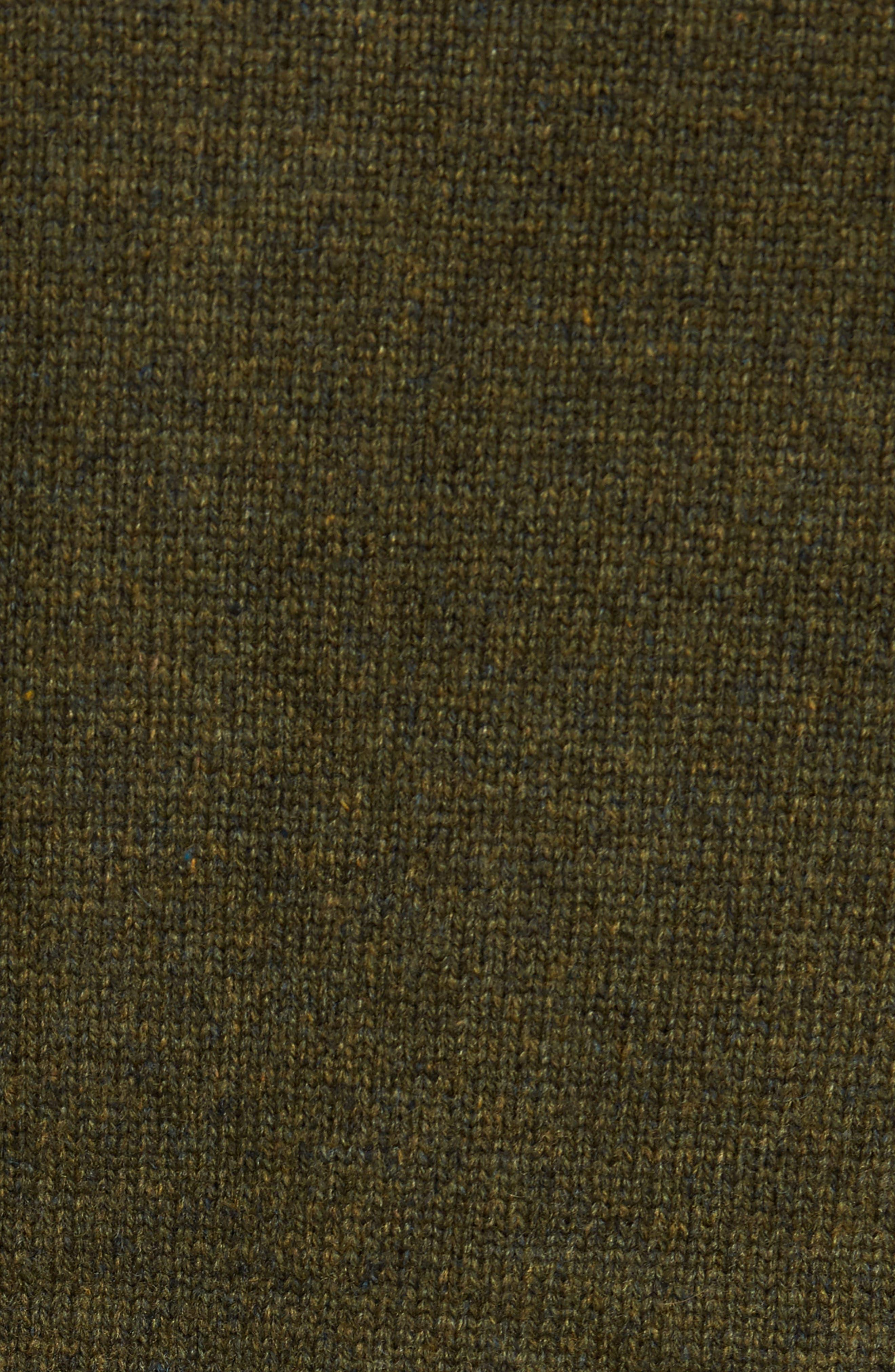 MA-1 Sweater Jacket,                             Alternate thumbnail 5, color,                             MOSS GREEN