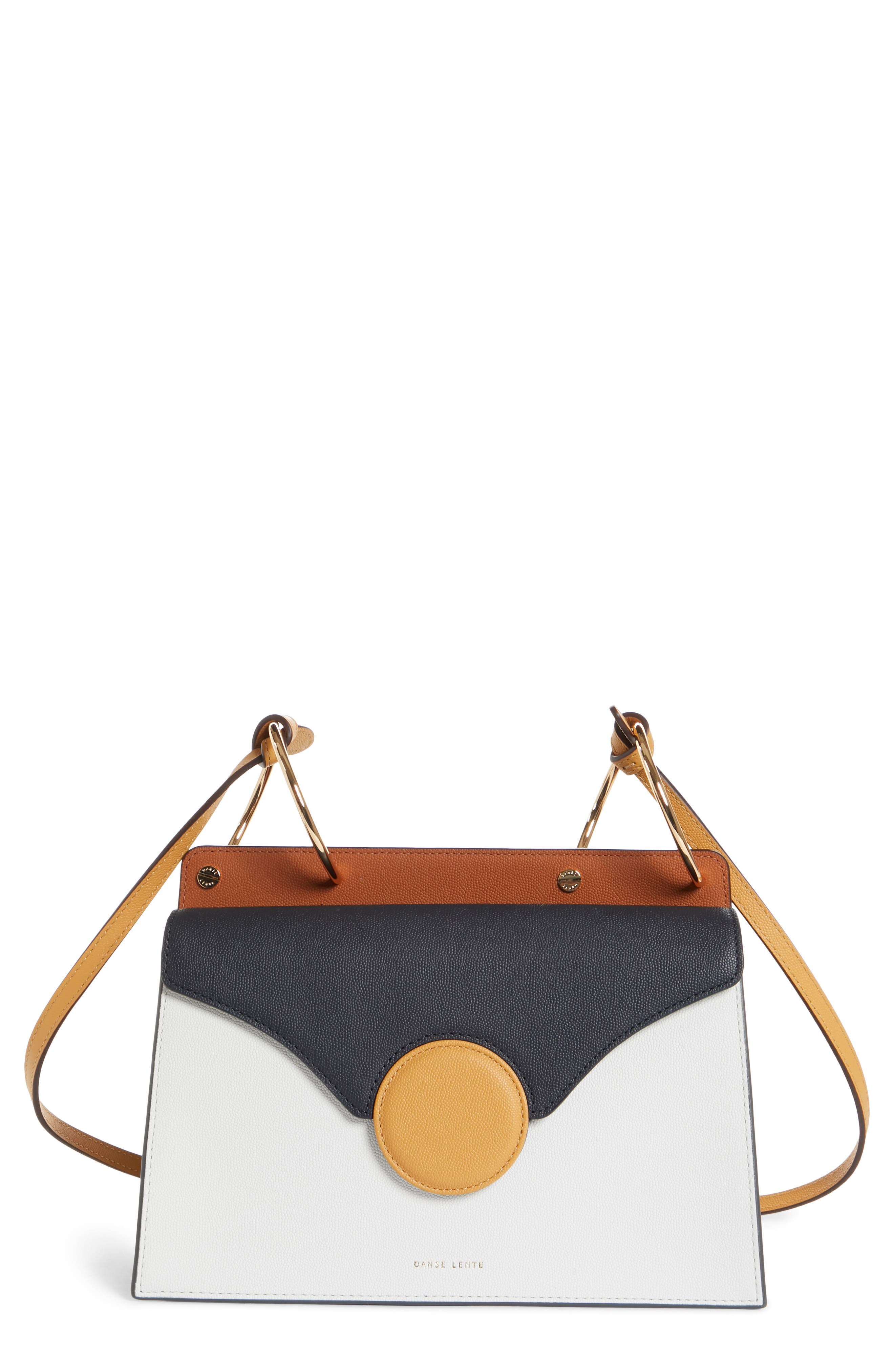 Phoebe Leather Crossbody Bag,                             Main thumbnail 1, color,                             MARINE/ SAND