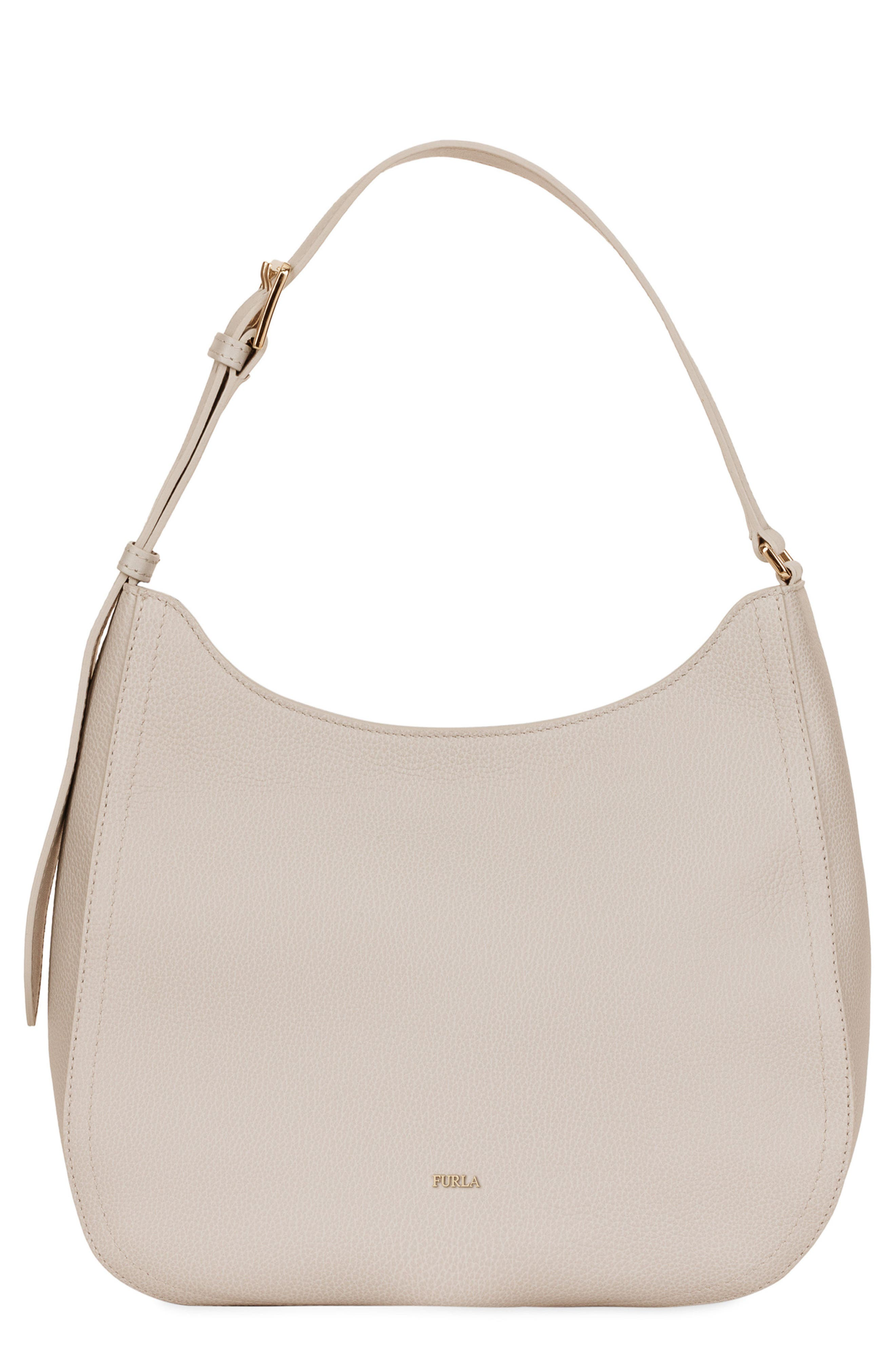 Medium Bloom Leather Hobo,                         Main,                         color,