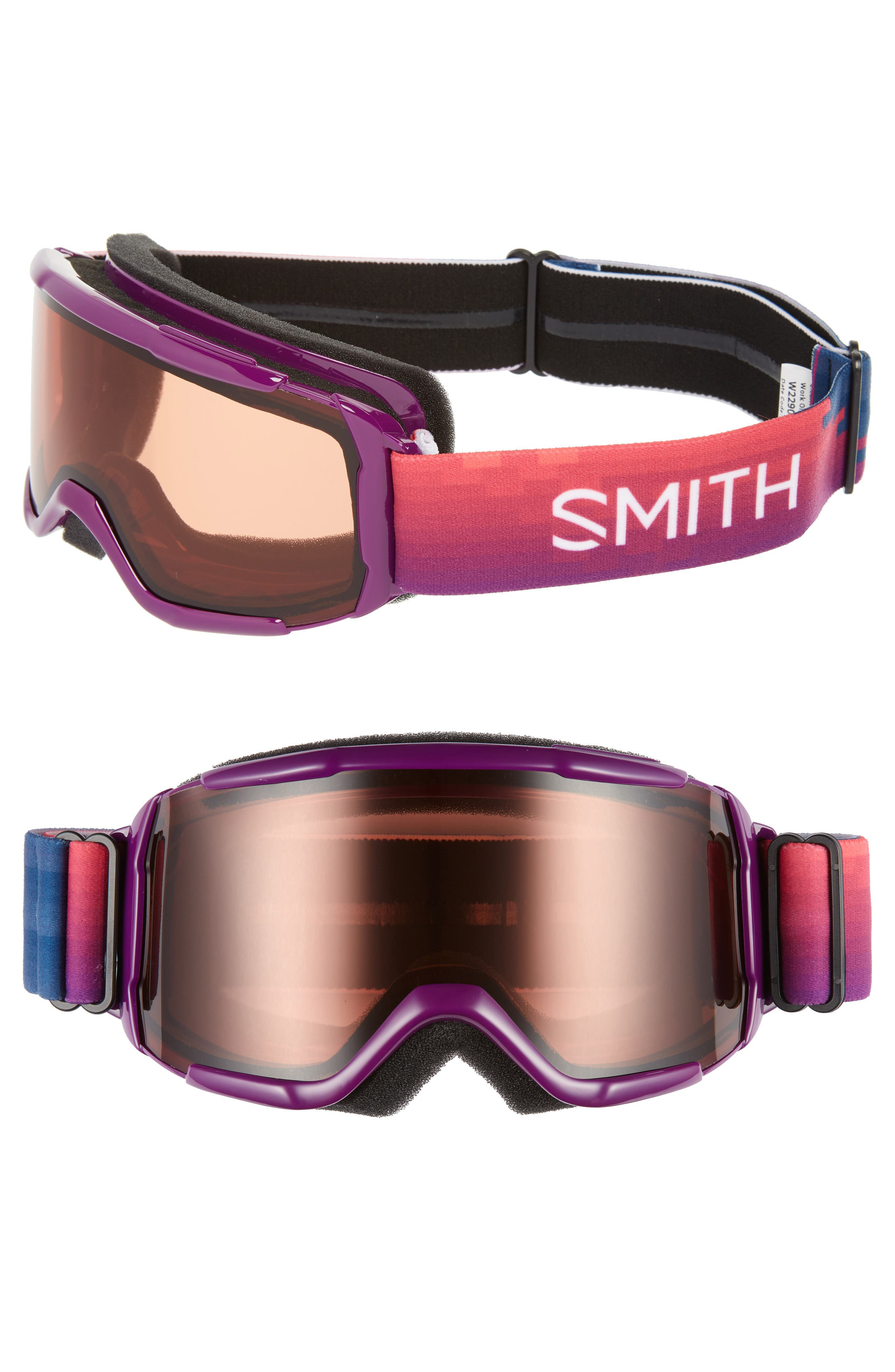 Daredevil 170mm Snow Goggles,                             Main thumbnail 1, color,                             MONARCH RESET