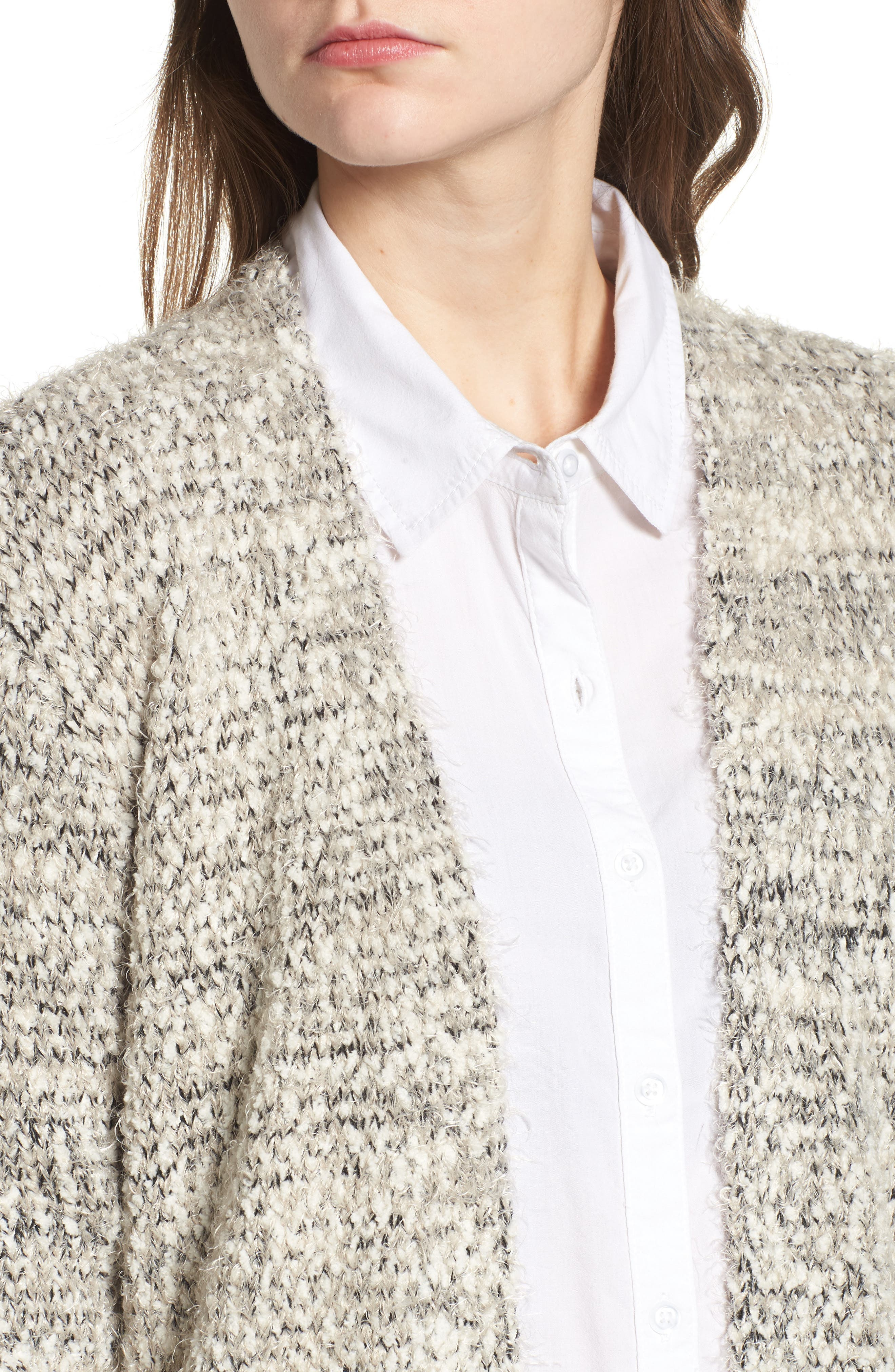Marled Cardigan,                             Alternate thumbnail 4, color,                             281