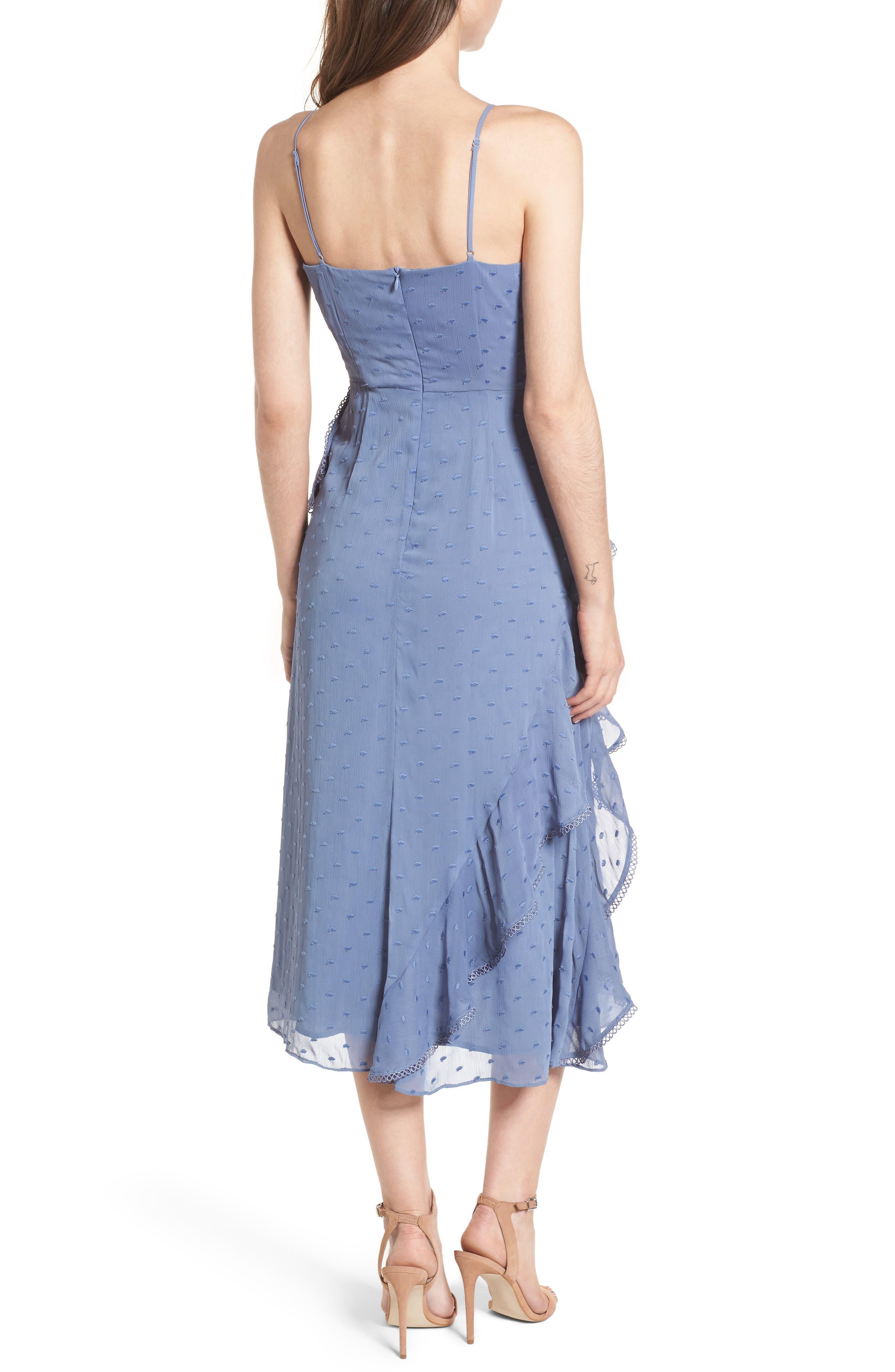 Hideaway Midi Dress,                             Alternate thumbnail 2, color,                             400