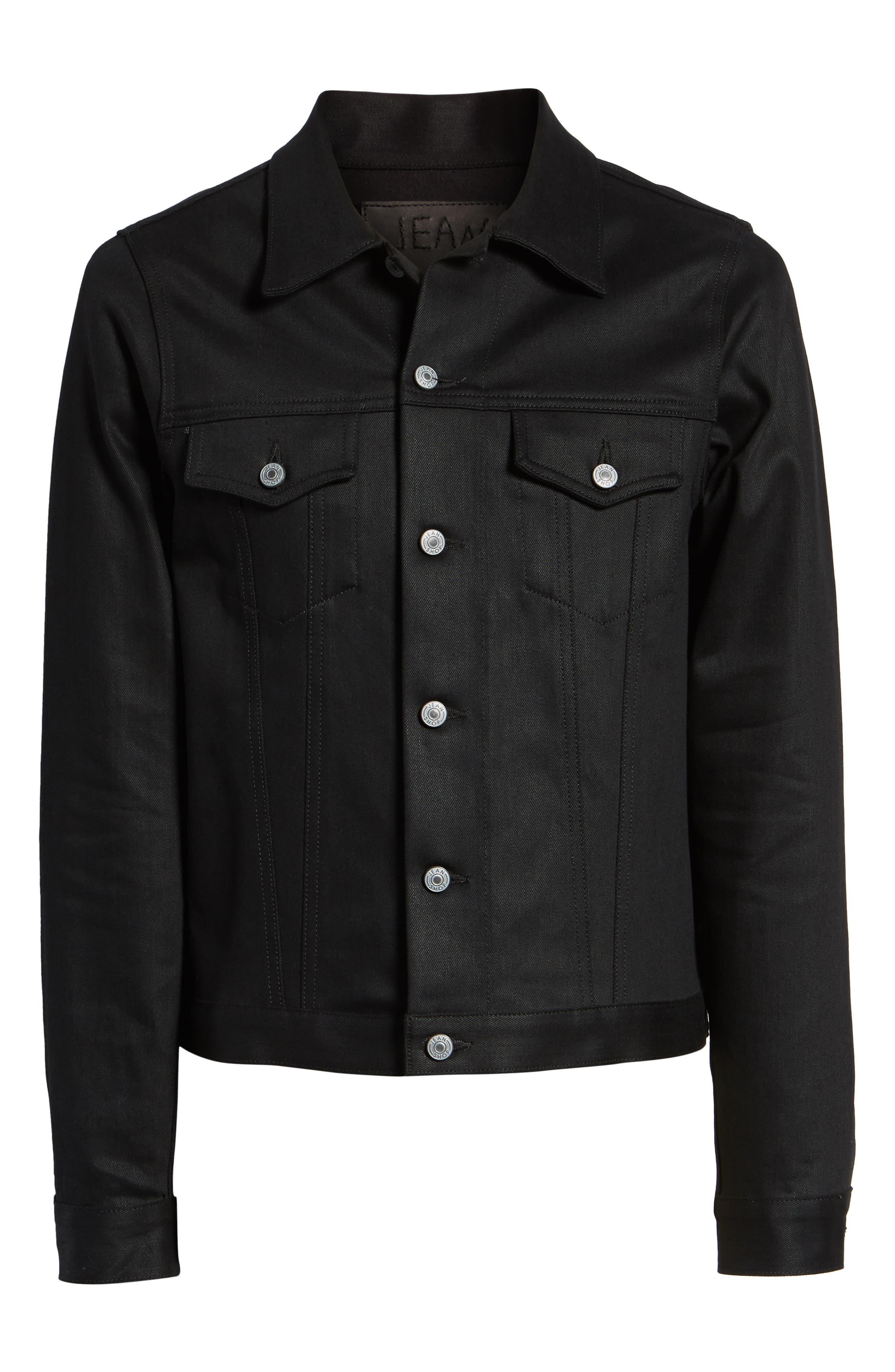 Lou Denim Jacket,                             Alternate thumbnail 5, color,                             RAW